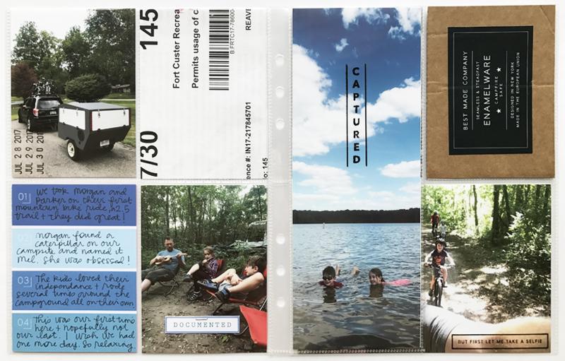 Summer Album 2017 : Camping at Fort Custer
