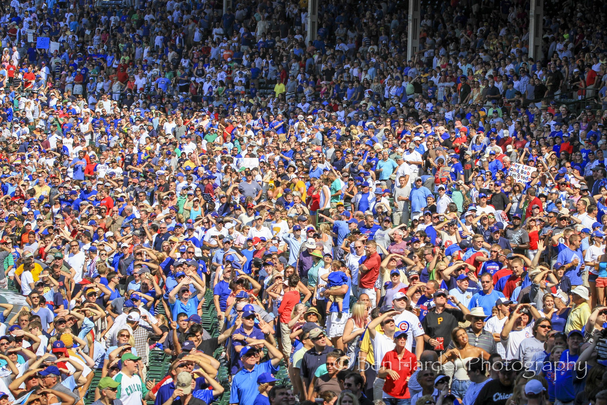 """""""7th Inning Stretch"""" - Chicago Cubs Stadium, Chicago, IL"""