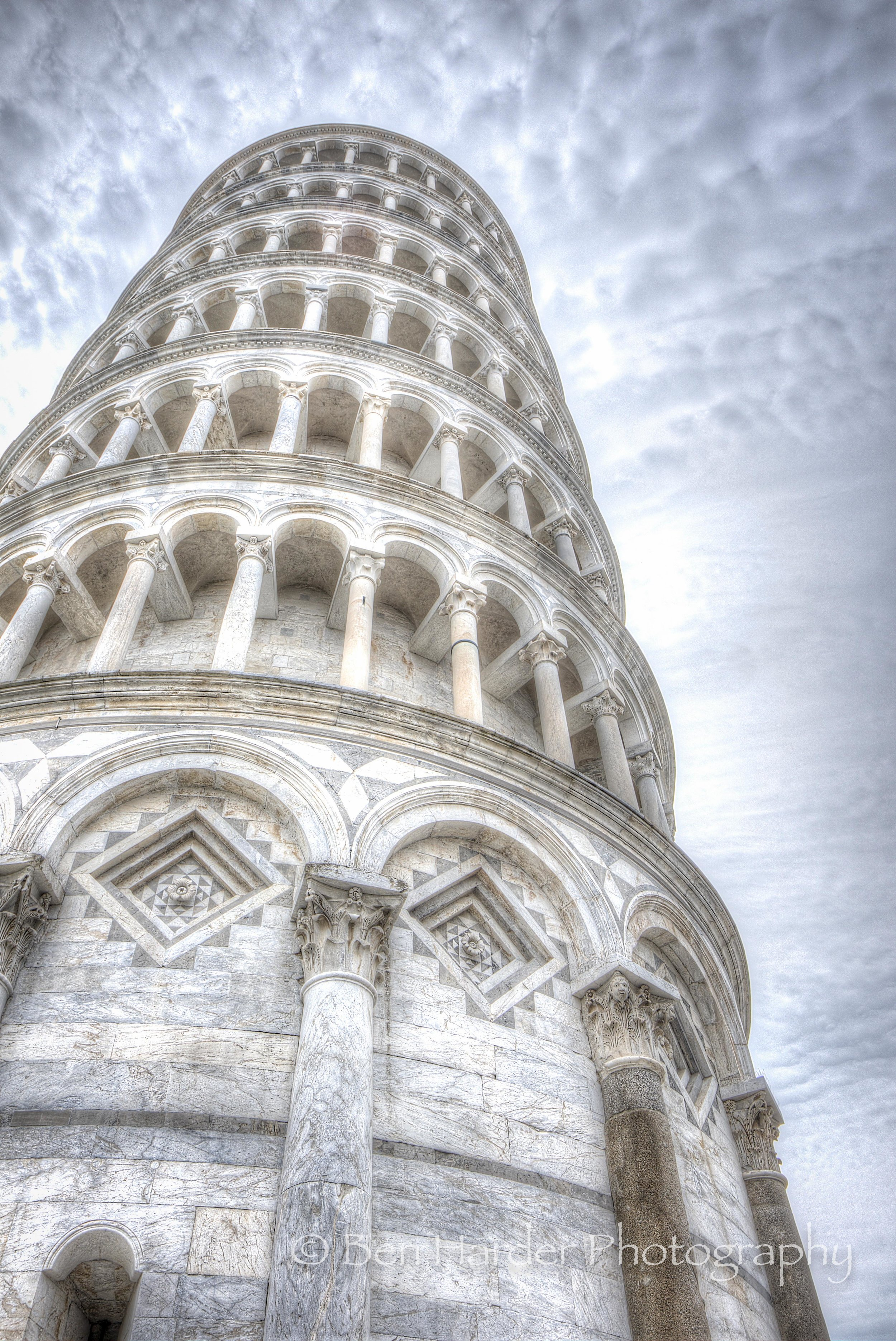 """A Little to the Left"" - Leaning Tower of Pisa, Italy"