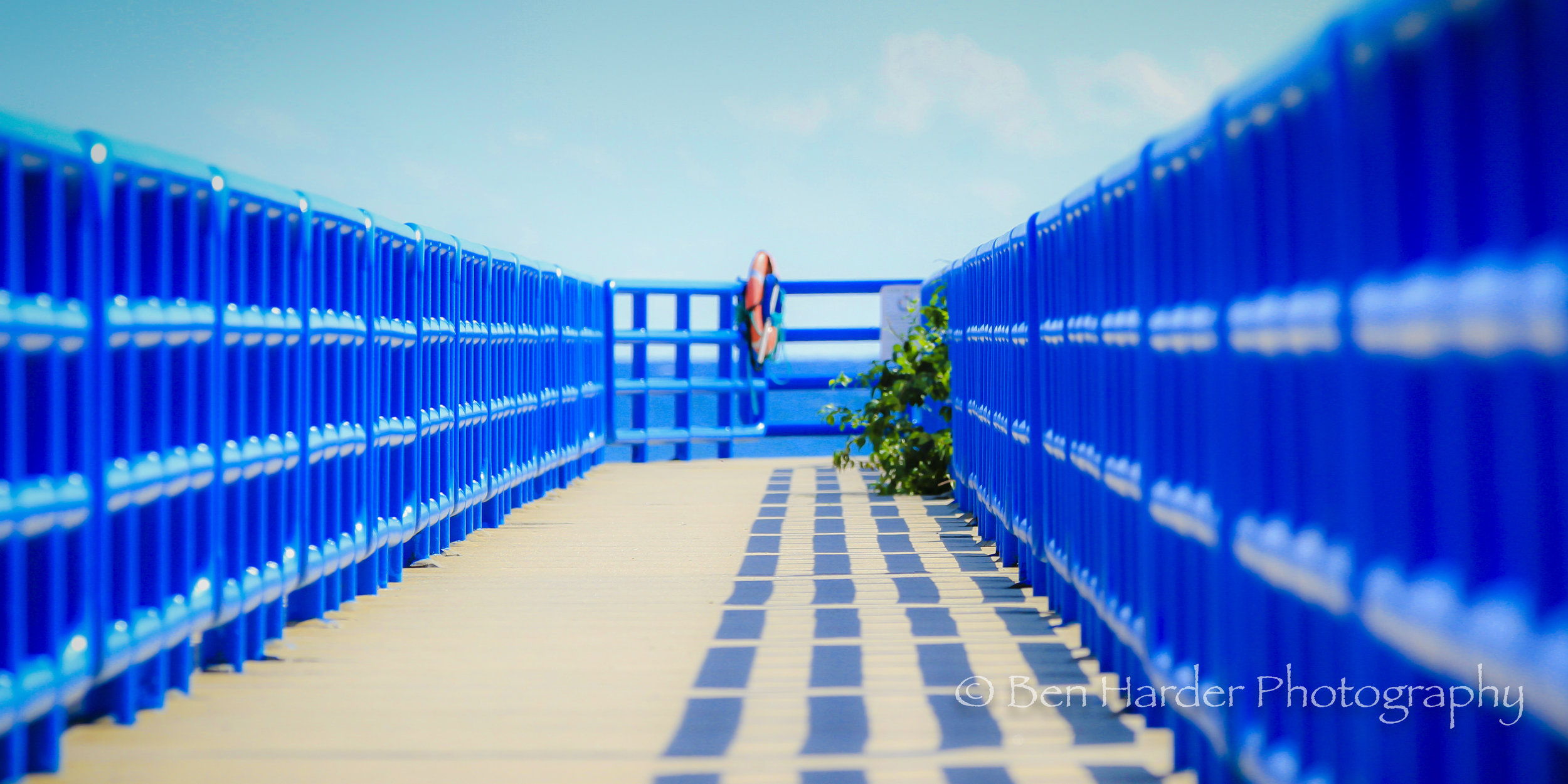 """Blue Pier"" - Holland, MI"