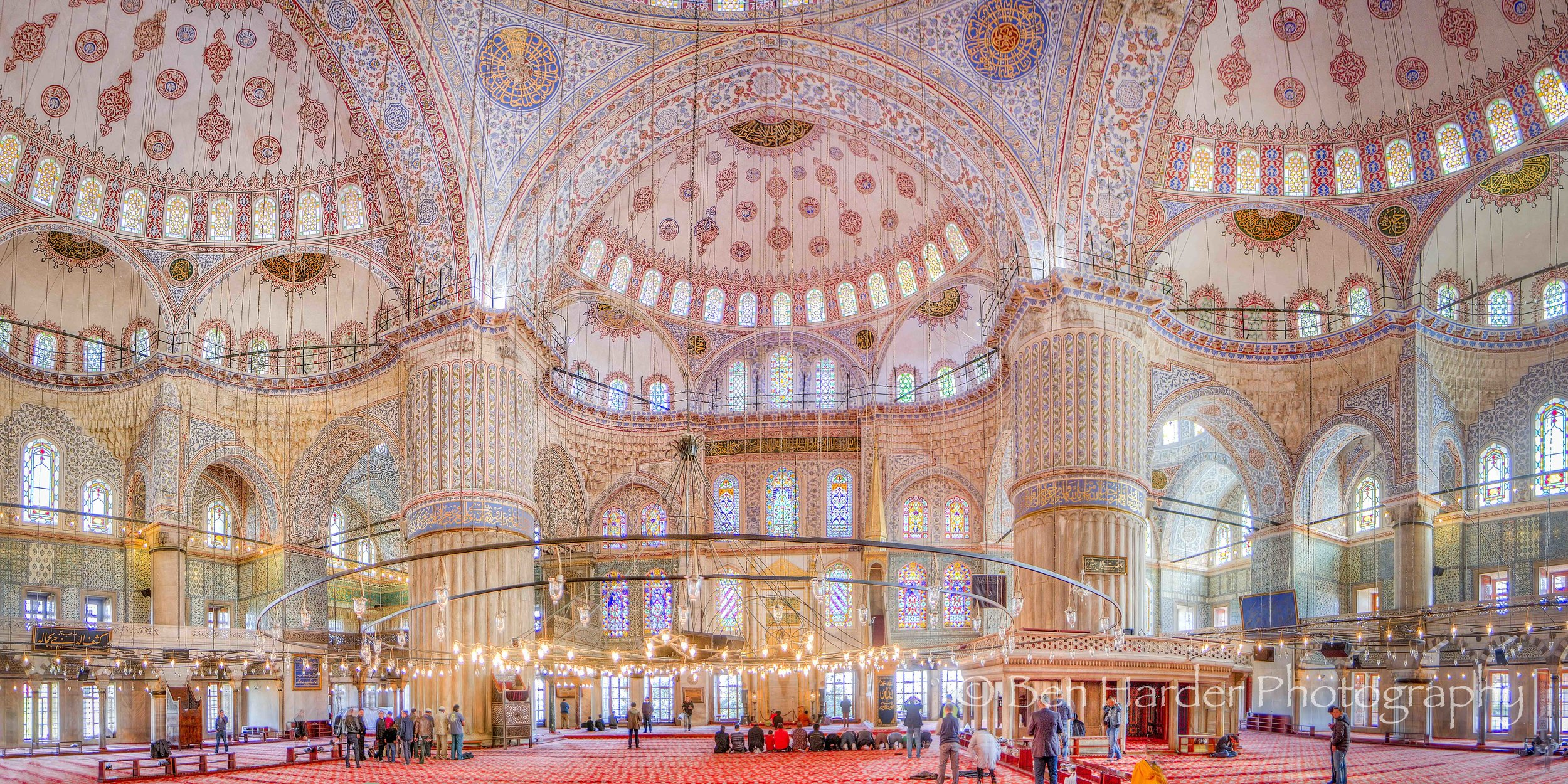 """Pretty in Pink"" - Blue Mosque, Istanbul, Turkey"