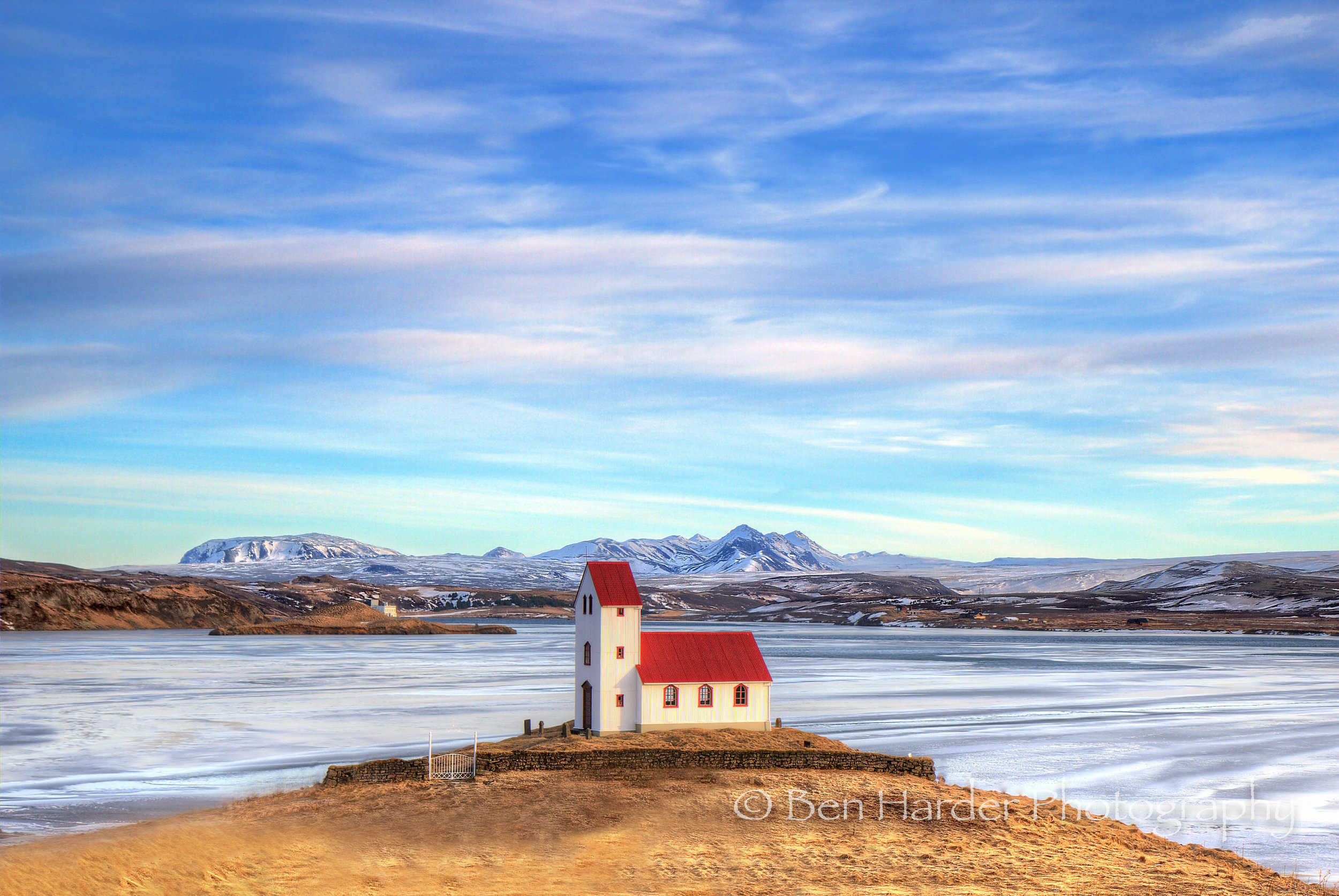 """Little Church-house on the Prairie (2)"" - Iceland"