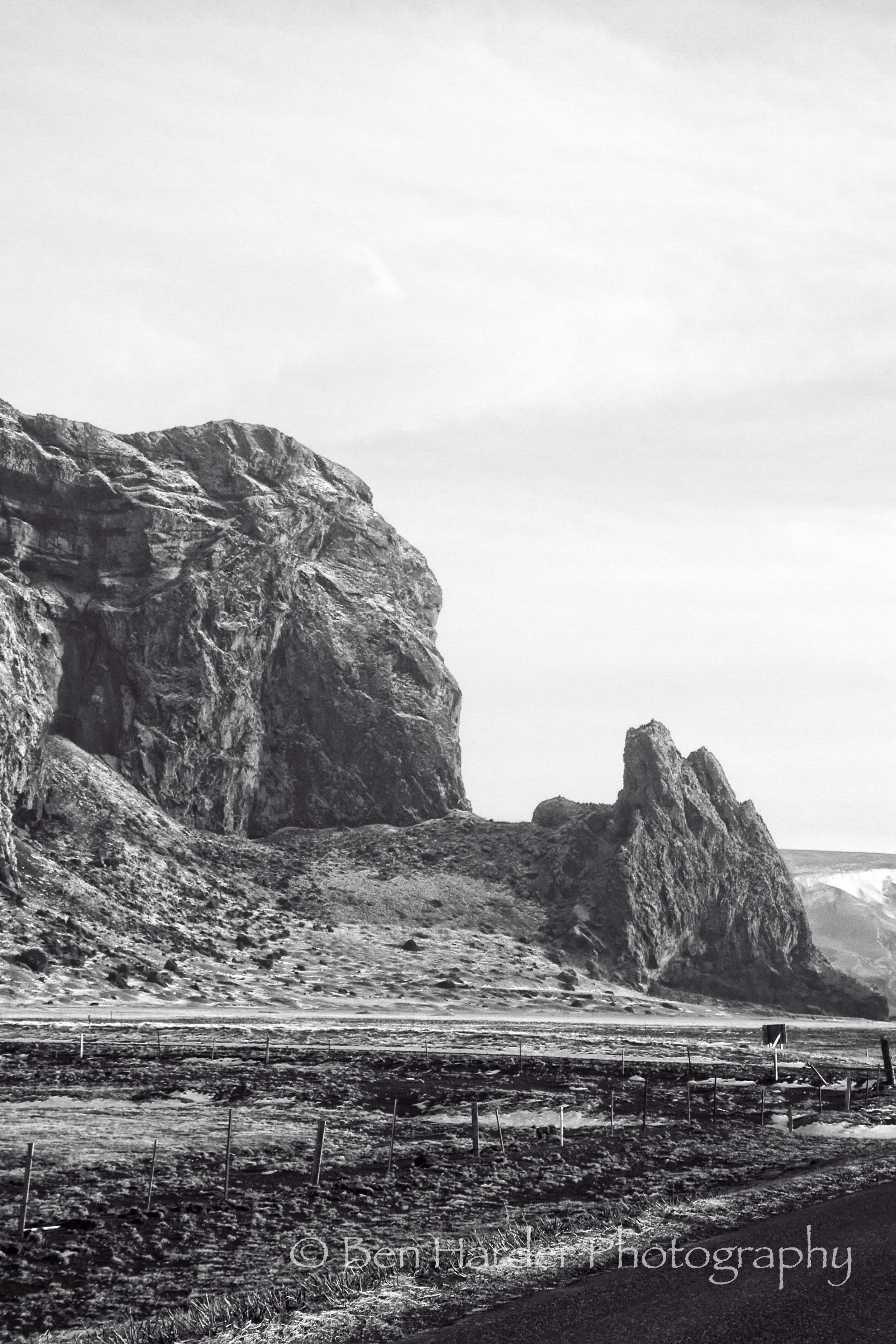 """Samurai Mountain"" - Iceland"