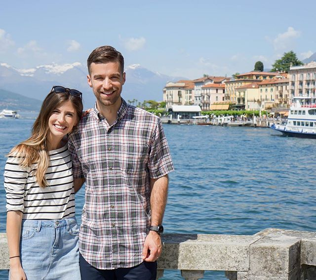 Squinty eyes but full hearts! 💕 We didn't enjoy leaving Lake Como because we loved it SO much, but I think we both were ready to head to Cinque Terre knowing we'd be back to visit another time! (Still trying convince Drew we should get a timeshare there...TBD) When people ask me where they should visit in Italy, Lake Como is at the top of my list of suggestions. It truly is an enchanting part of Italy that is often overlooked when planning a trip. It might not have museums full of art, but the beauty is found in the scenery and culture that surrounds the lake. It really is a little slice of heaven!