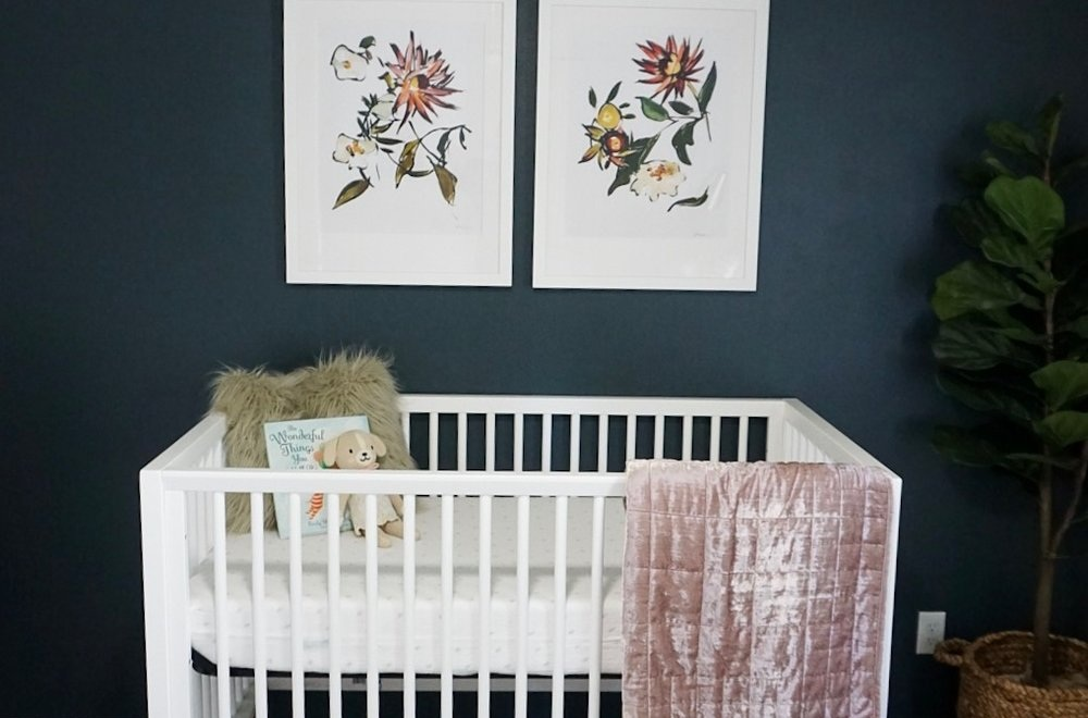A's Nursery Reveal - Featured in Family and Home
