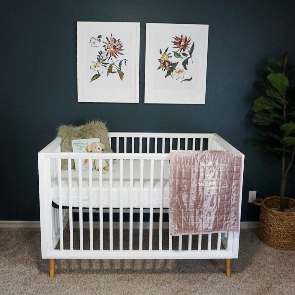 NEW BLOG: Adeline's Nursery Reveal -