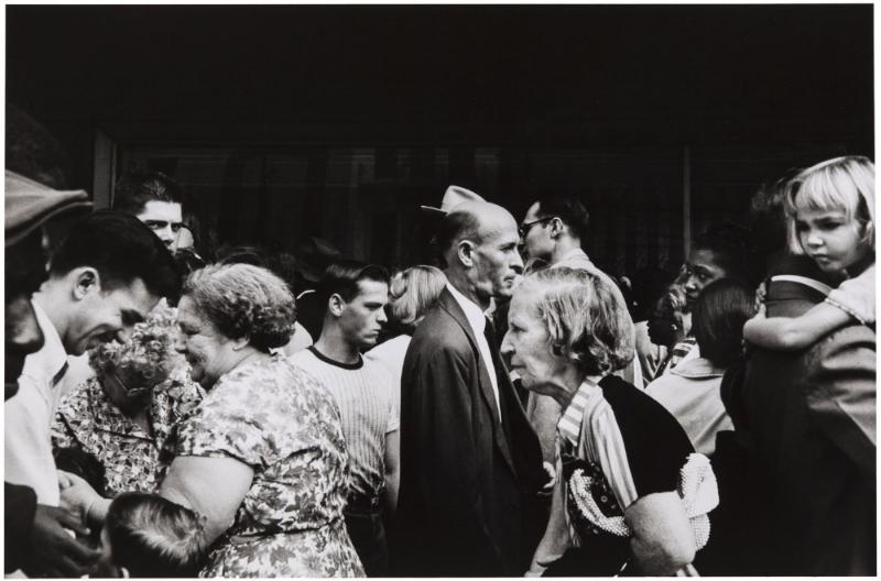 """Robert Frank, """"Canal Street - New Orleans, 1955"""""""