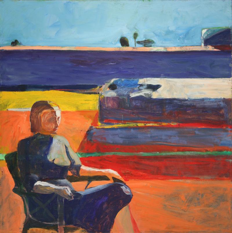 "Richard Diebenkorn, ""Woman on a Porch"""