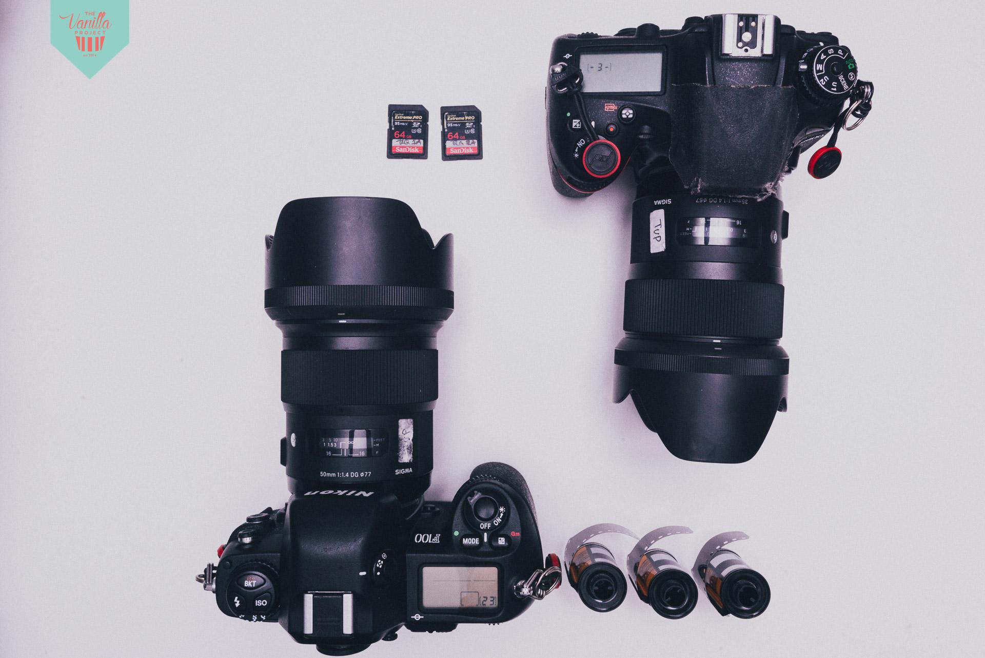 Do you shoot film? -