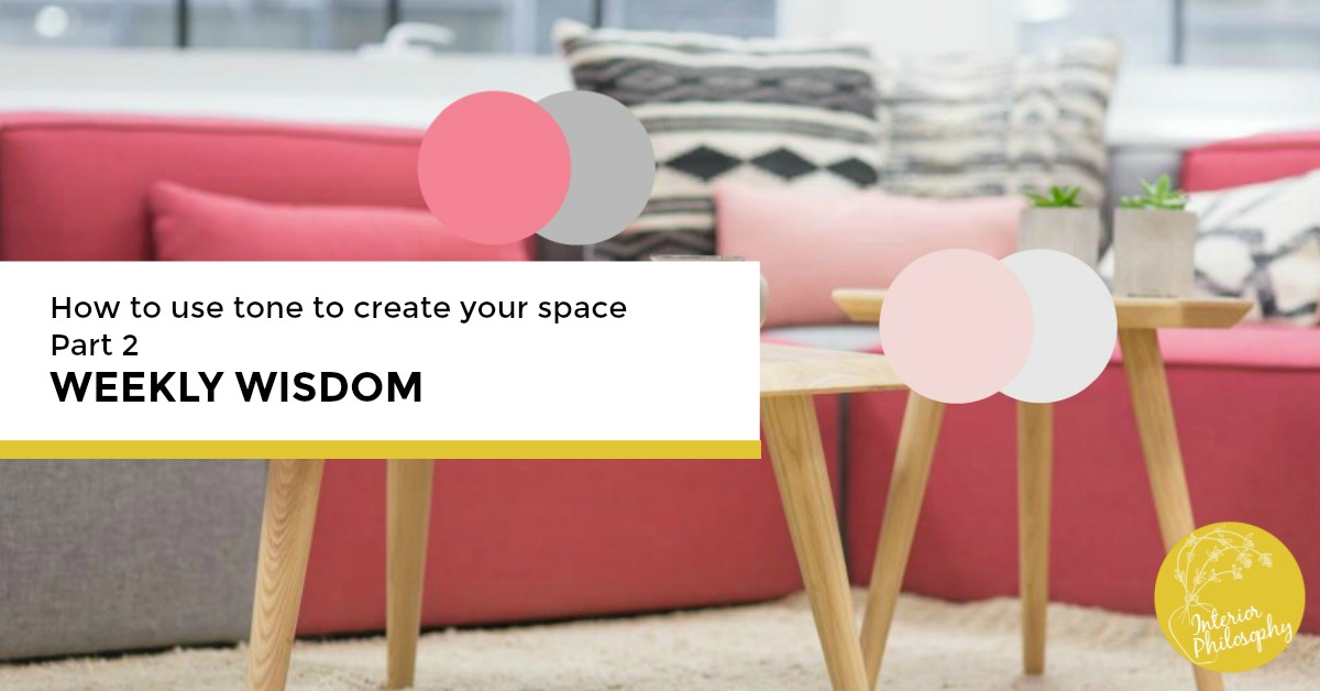 One colour with variation:  Create interest and harmony in you space when you use one colour but different tints, tones and shades.