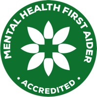 Mental Health First Aid Qualified