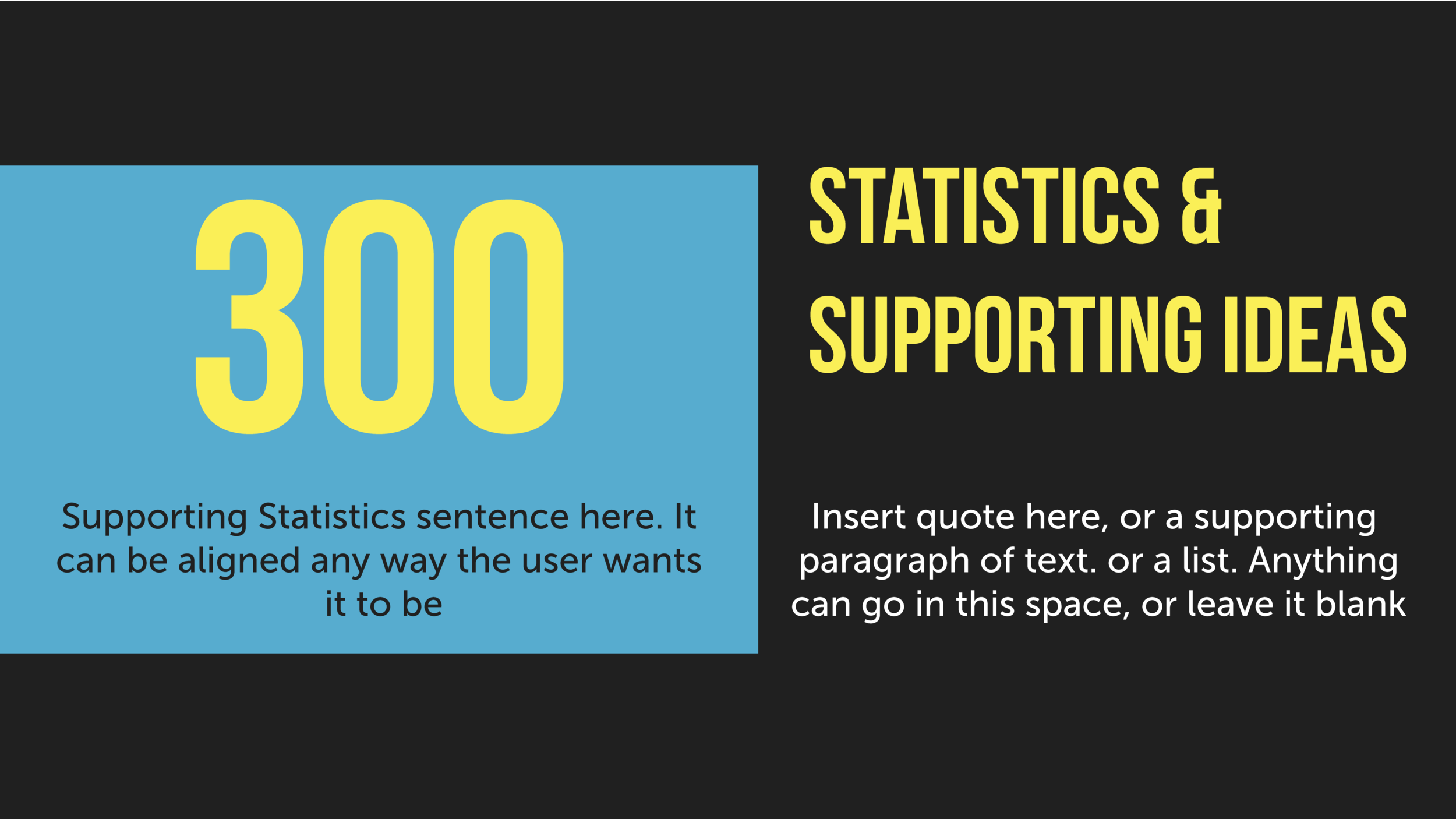 Statistics & Supporting Ideas.png