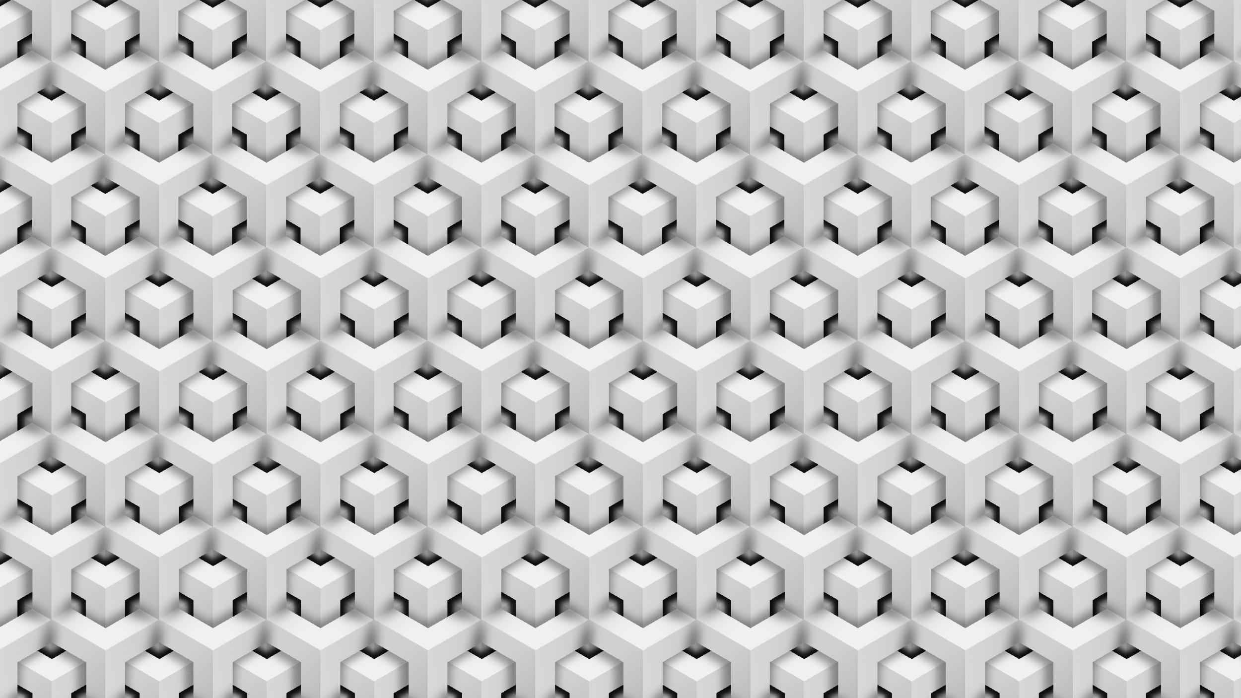 Hexagon Effect Wallpaper