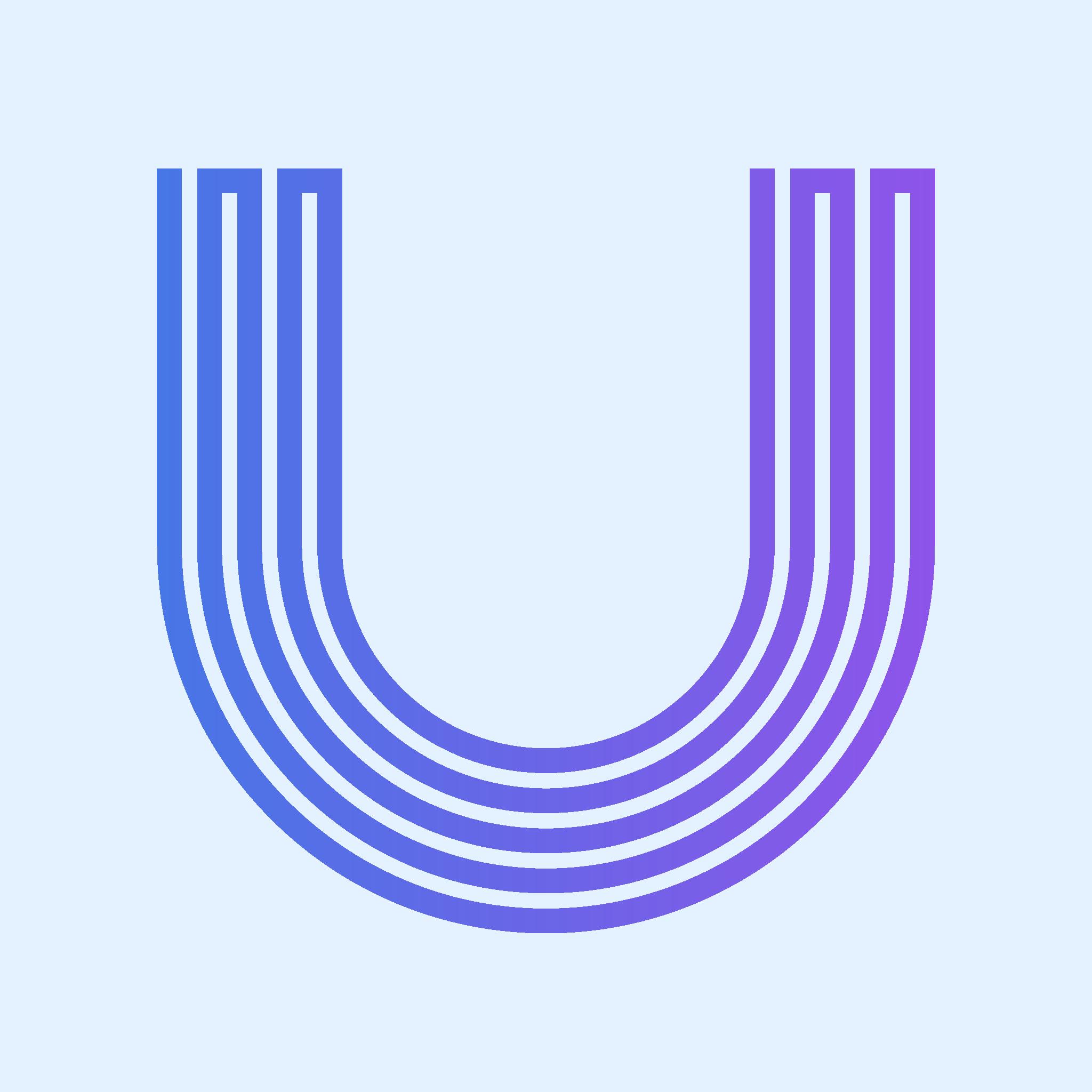 """U"" Monogram Logo"