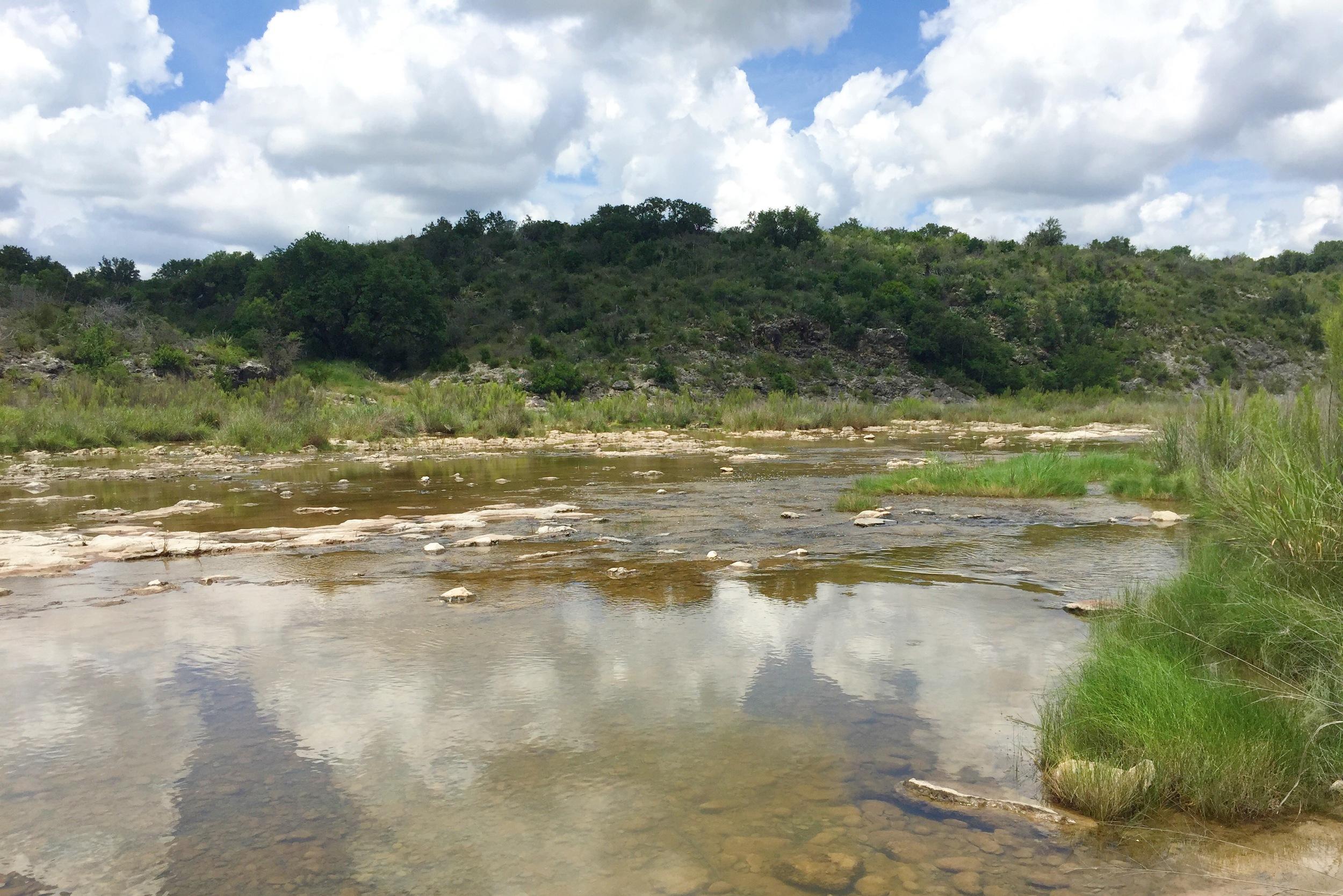 James River, Mason County, Texas