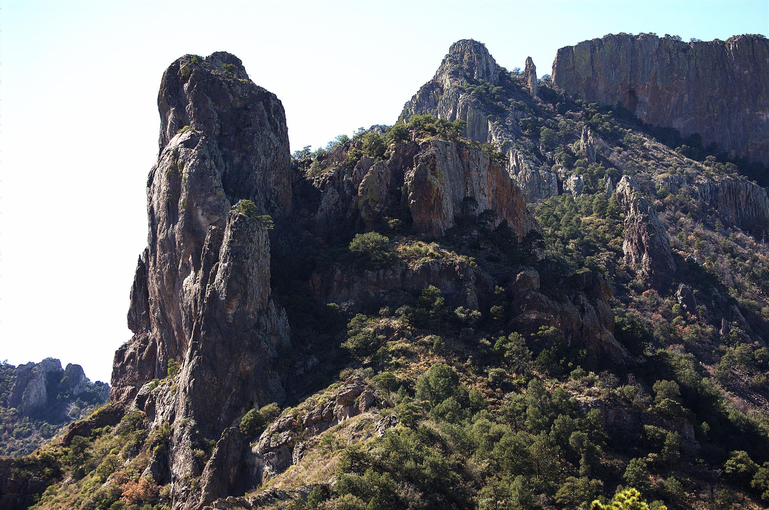 Casa Grande, Chisos Mountains