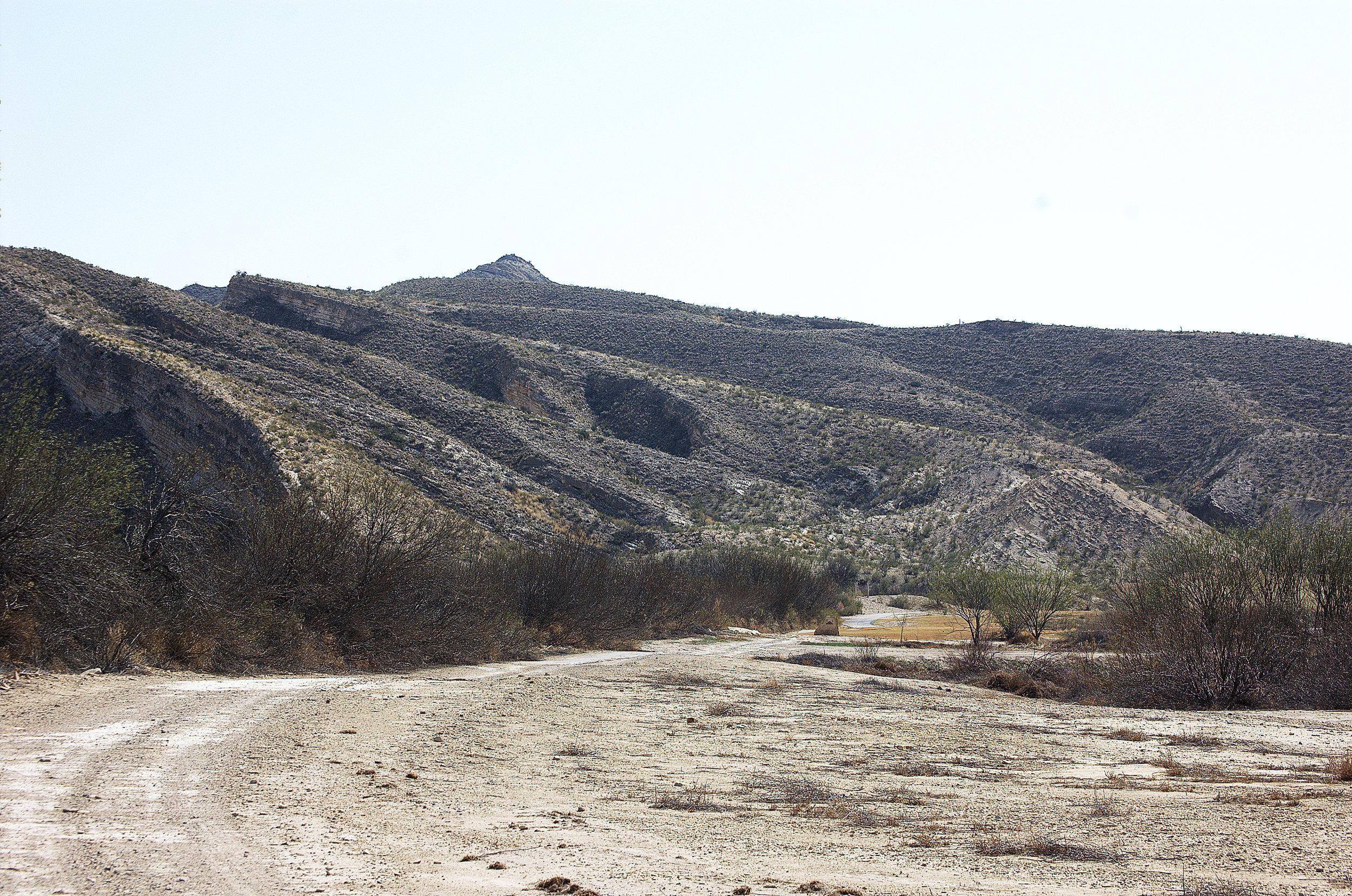 Footbills of Mesa de Anguila