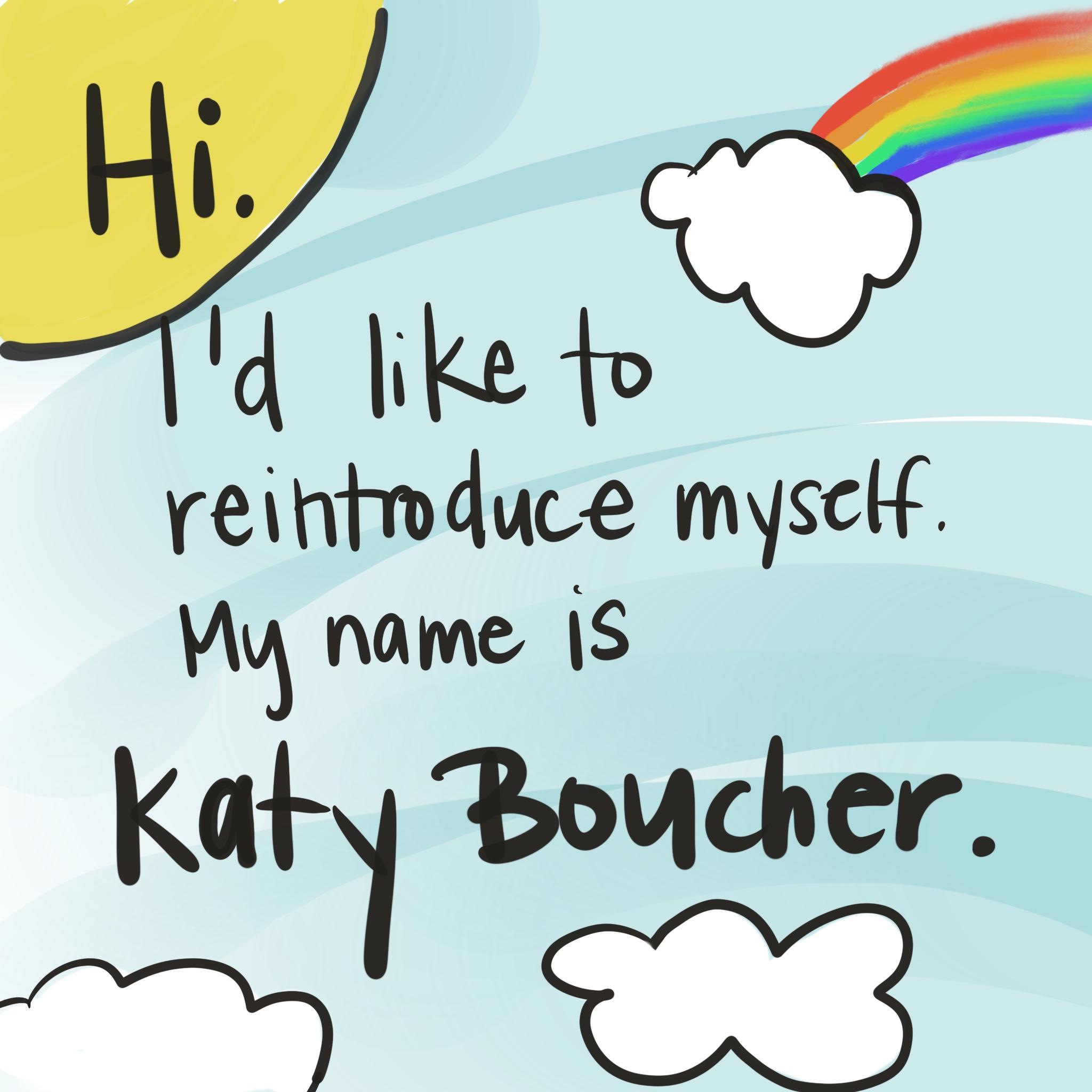 Katy Shamitz is now Katy Boucher  — Katy Boucher