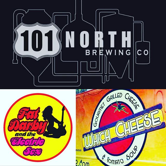 Don't miss your chance to come and buy beers from the taproom one last time! We will have great music from Fat Darby and the Electric Sex as well as yummy grub for sale from the amazing folks at Which Cheese! Bring your friends, bring the family! All are welcome this Saturday from 1-4pm.  #101NorthBrewing #HeroineIPA #ComeShowUsSomeLove #Petaluma