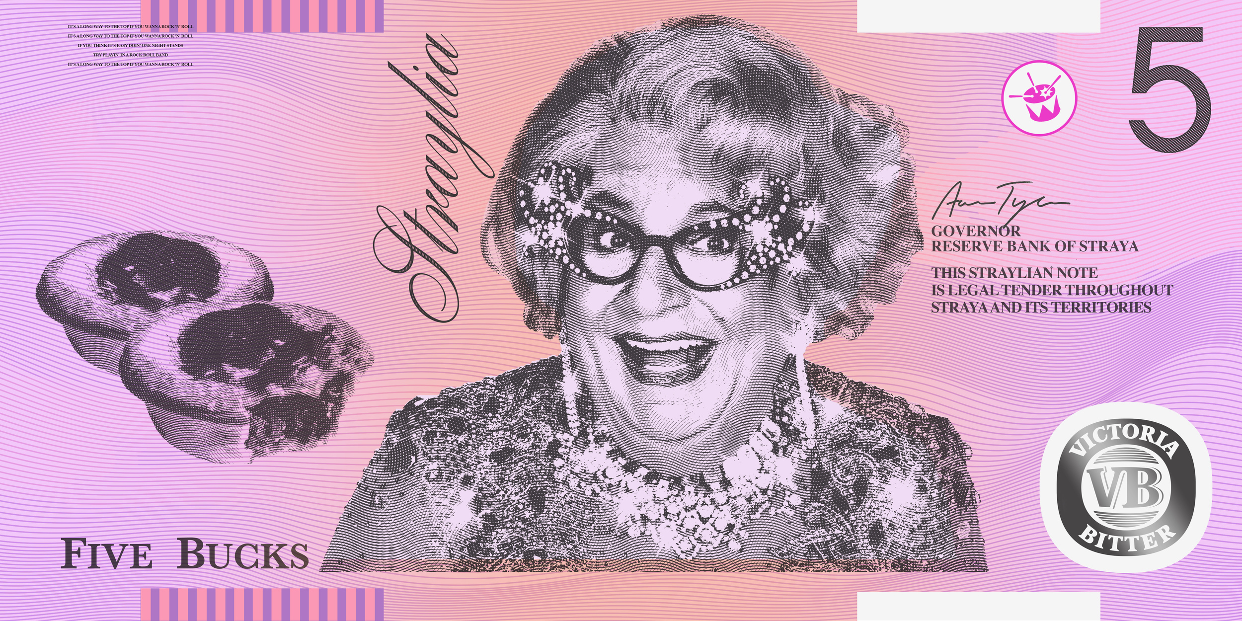 Dame Edna,Pies, and VB.