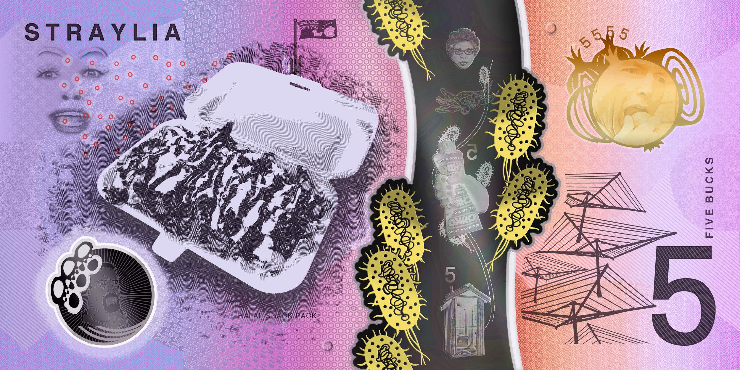 Features:Halal snack pack(HSP), Mulligrubs, Onion eating hologram,Hills Hoist