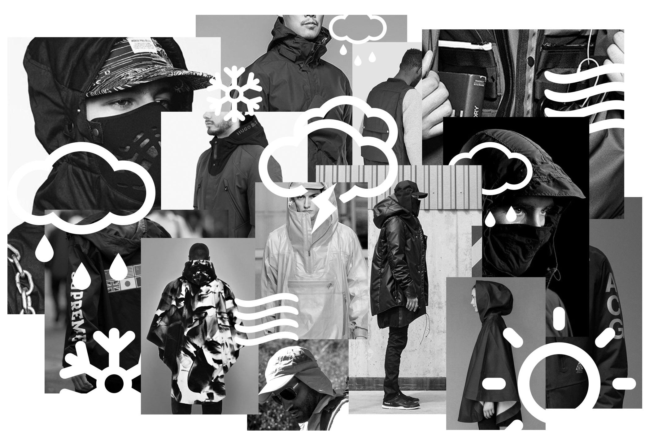 The Melbourne Jacket design mood board.