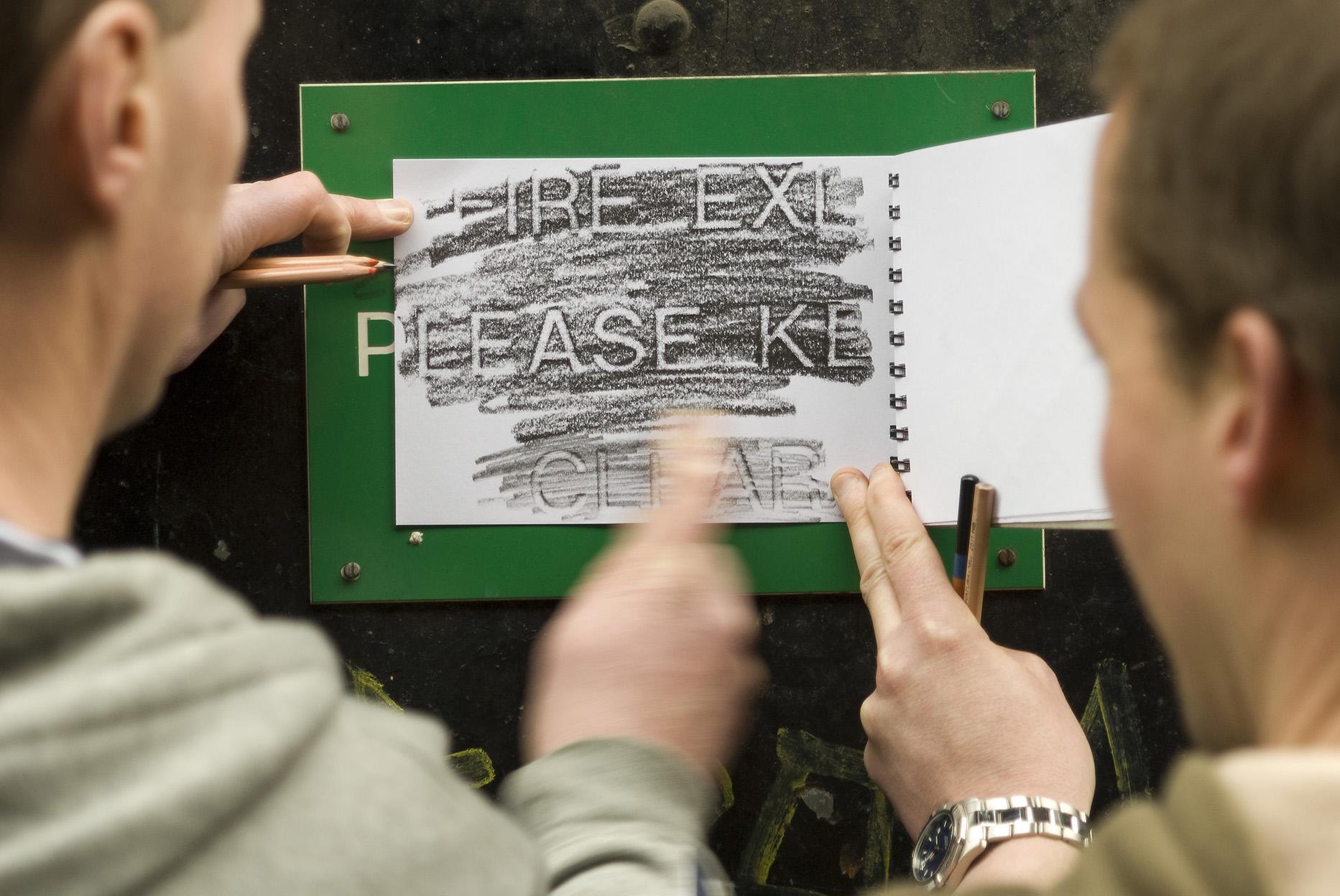 LU staff Southwark_making rubbings.jpg