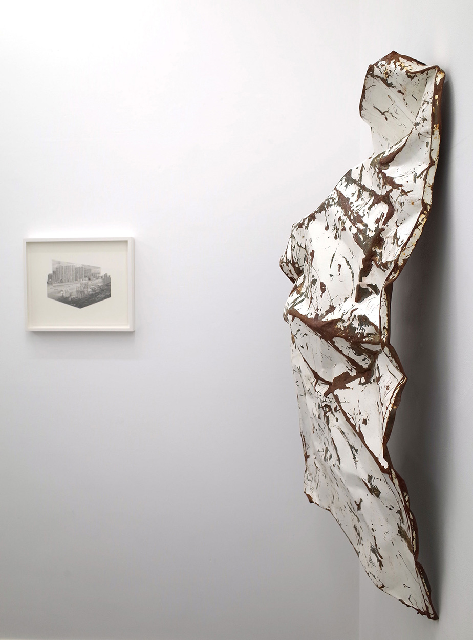 Jessie Brennan_A Brutal Story 2014_Steel acrylic paint and rust_117 x 67 x 31 cm.jpg