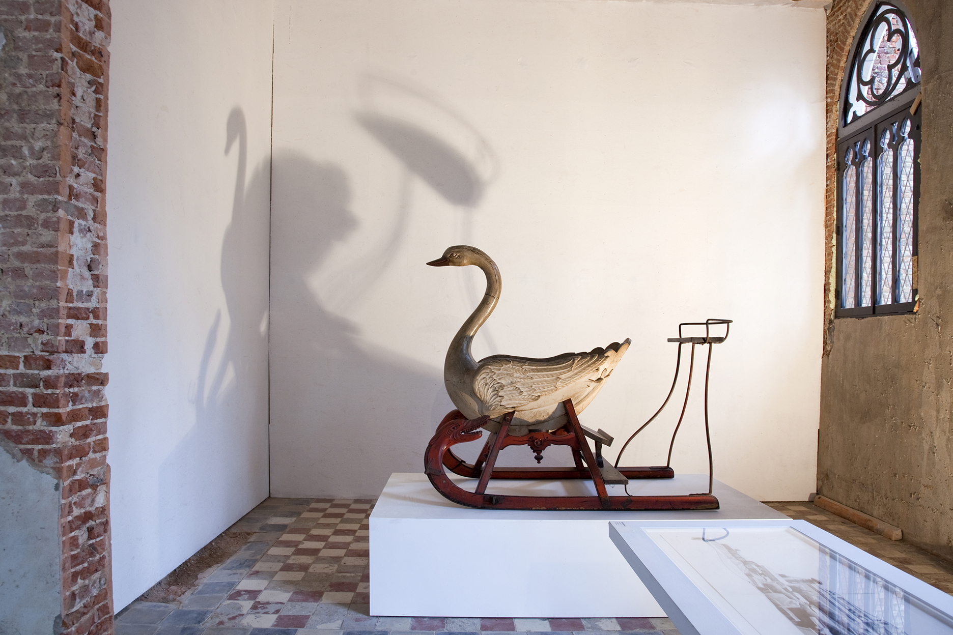 Jessie Brennan_Untitled (Sled) and The Cut_installation views in Coup de Ville.jpg