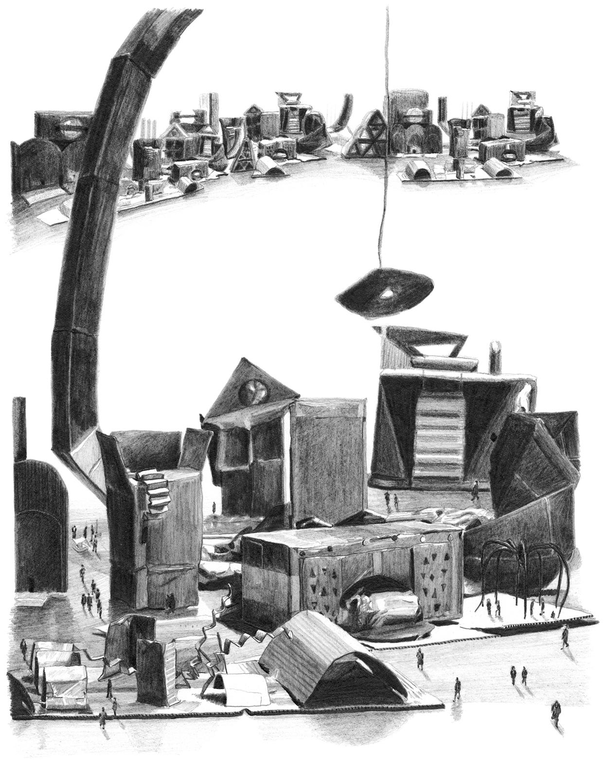 Jessie Brennan_Impossible Buildings_2009_graphite on paper.jpg