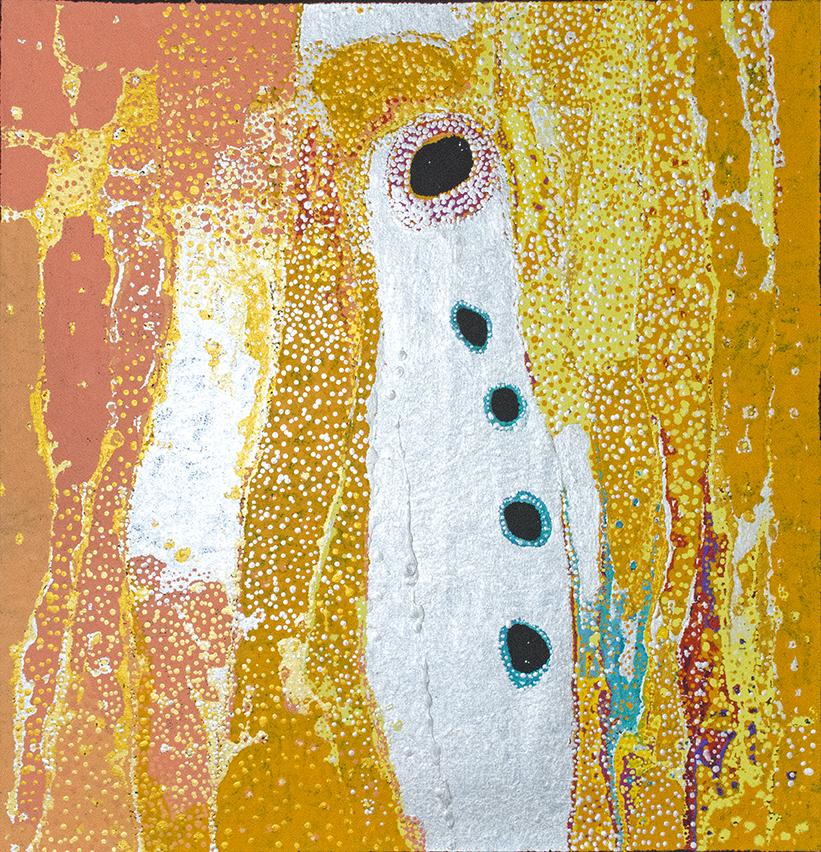Daniel Walbidi du centre d'art de Bidyadanga