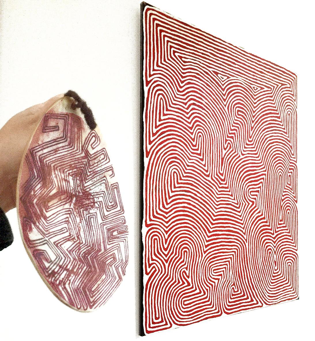 art-aborigène-peinture-papunya-tula-ronnie-tjampitjinpa