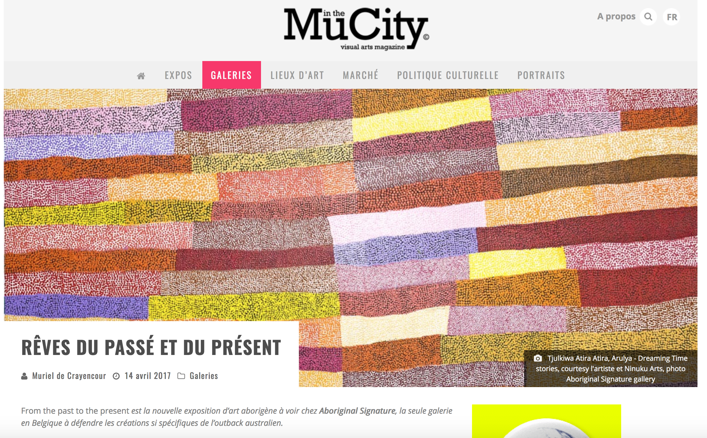exposition-art-aborigène-ninuku-art-article-presse-muinthecity