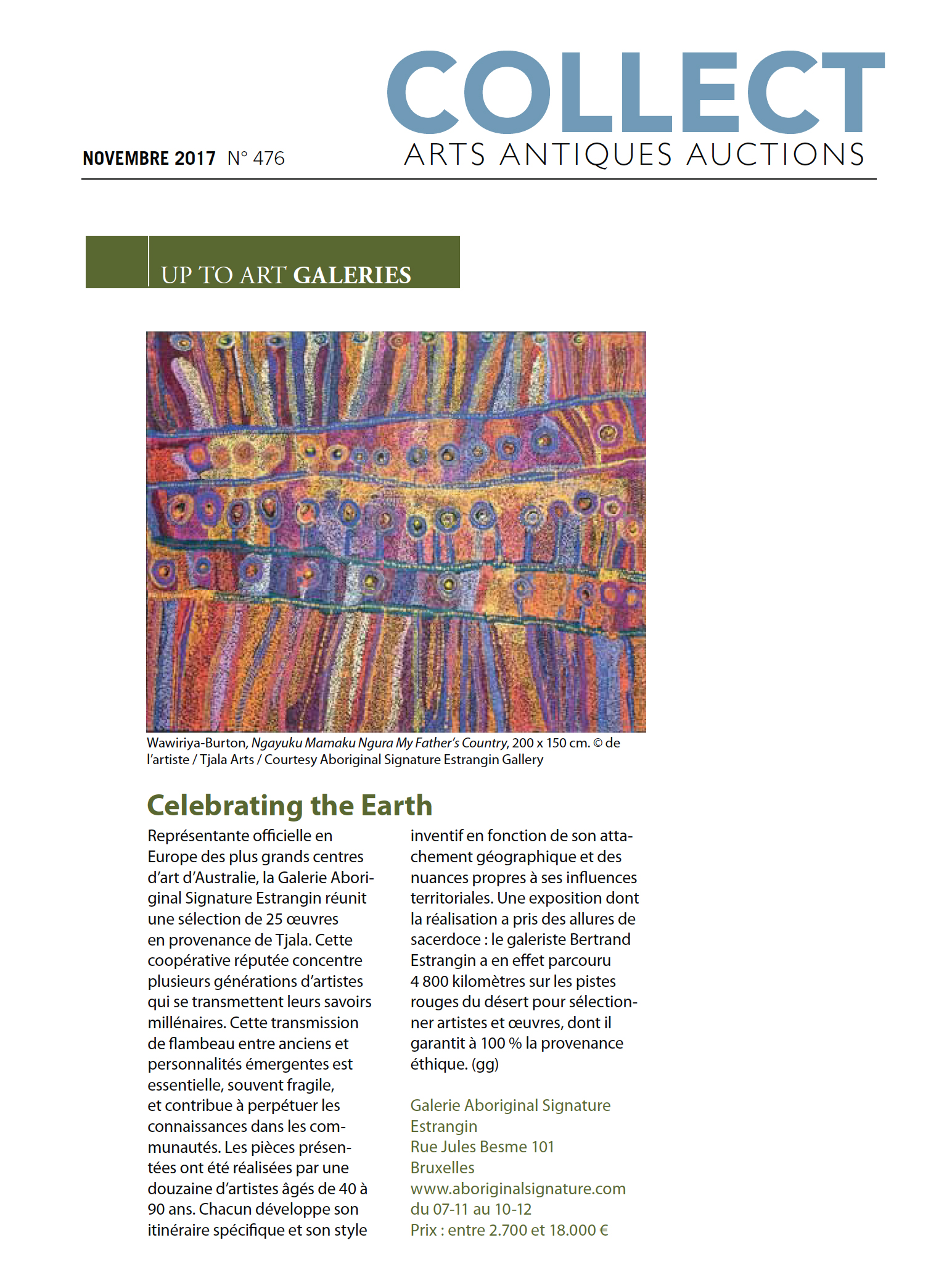 COLLECT-NOV-celebrating the Earth