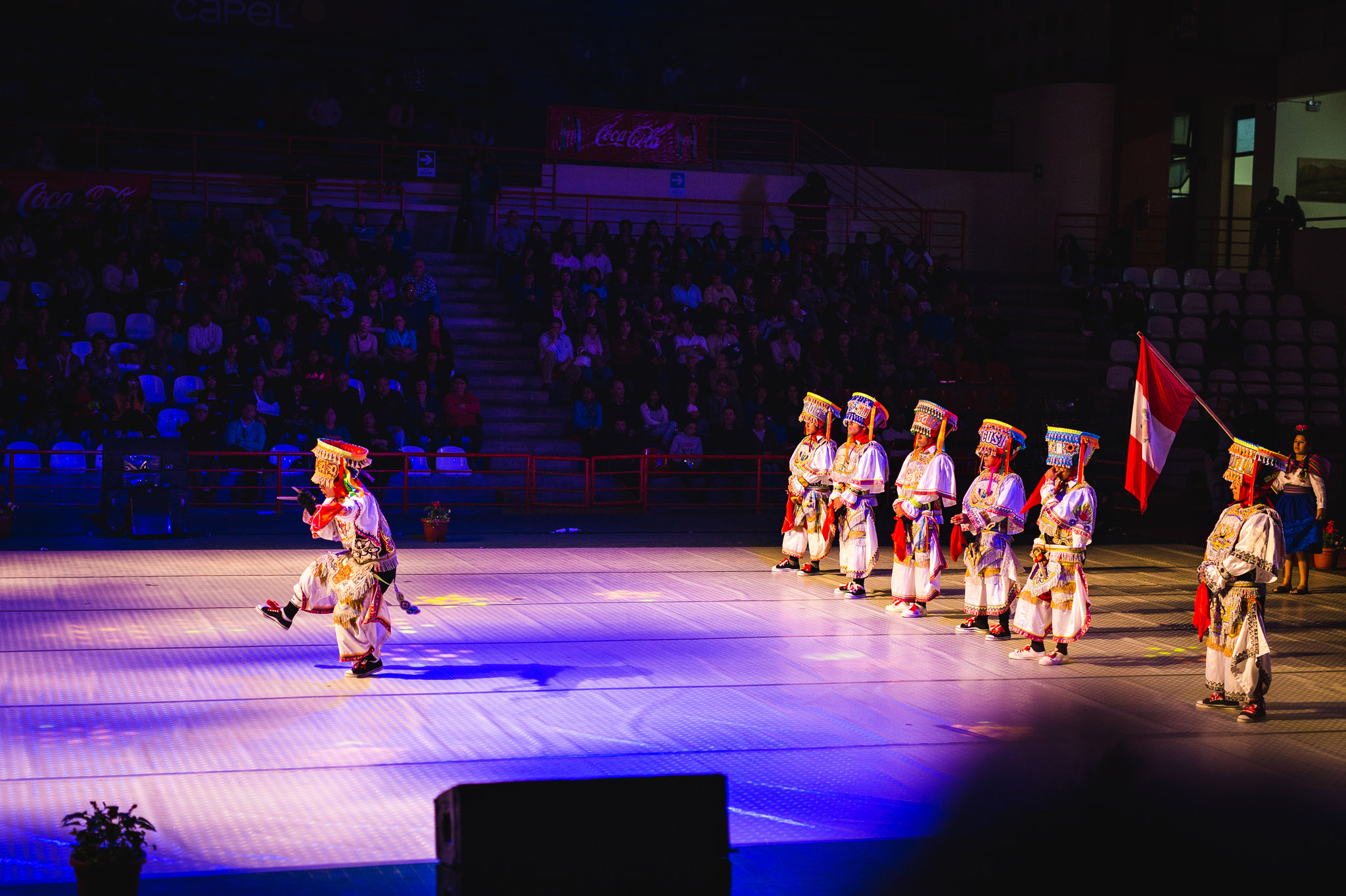Peruvian folklore group