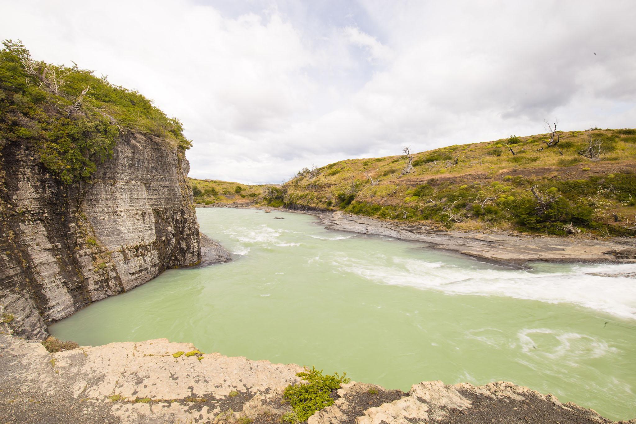 Wedding-Travellers-Overlanding-Destination-Wedding-Chile-Torres-del-Paine-waterfall