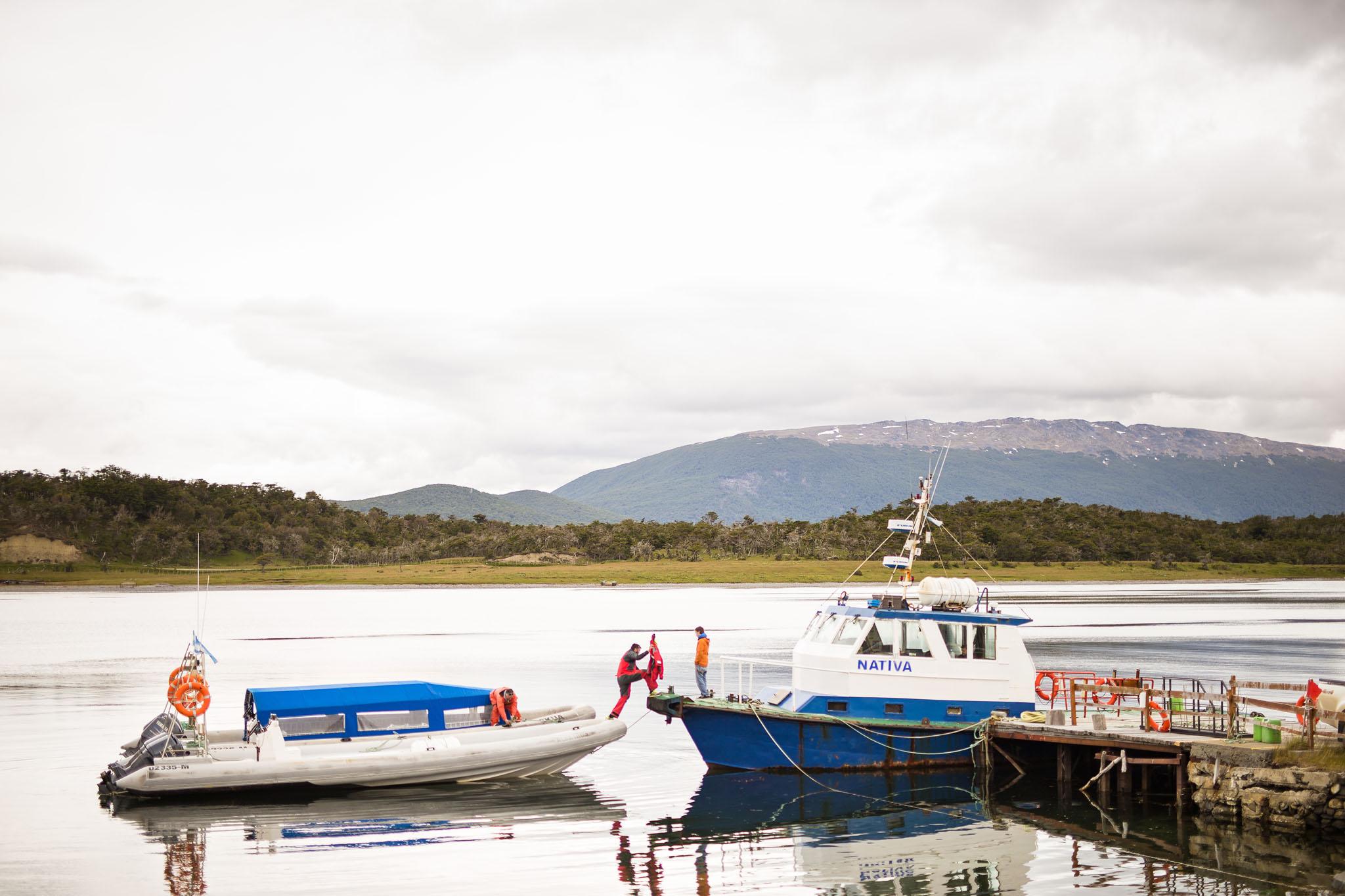 Wedding-travellers-ushuaia-argentina-estancia harberton