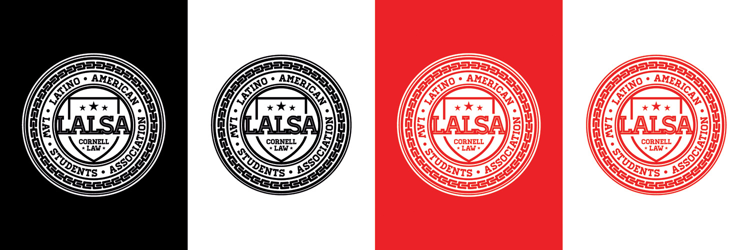 The system called for logos that work on white, black, and red to adhere to the Cornell brand.
