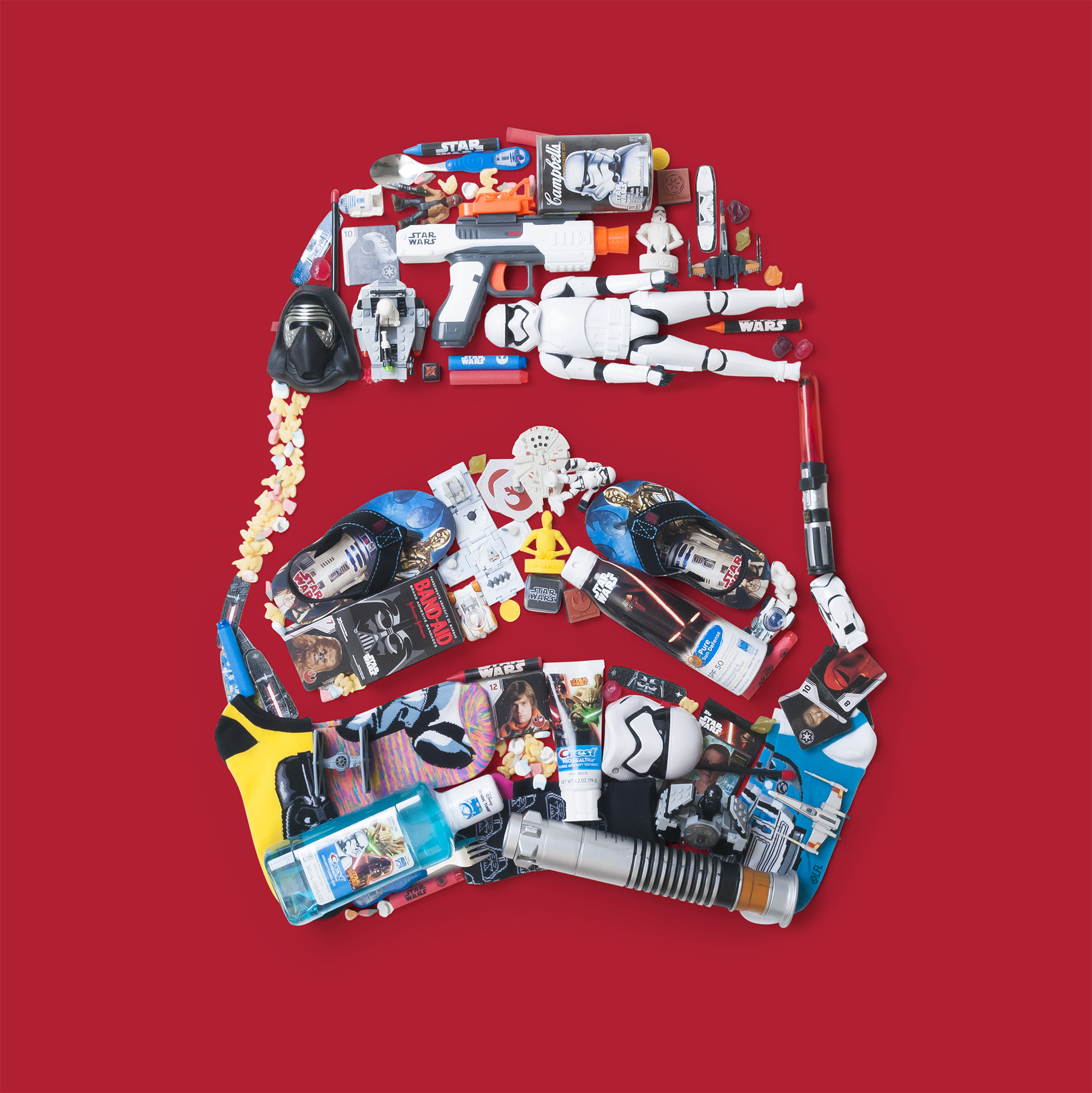 Star Wars products for Comic-Con promotion