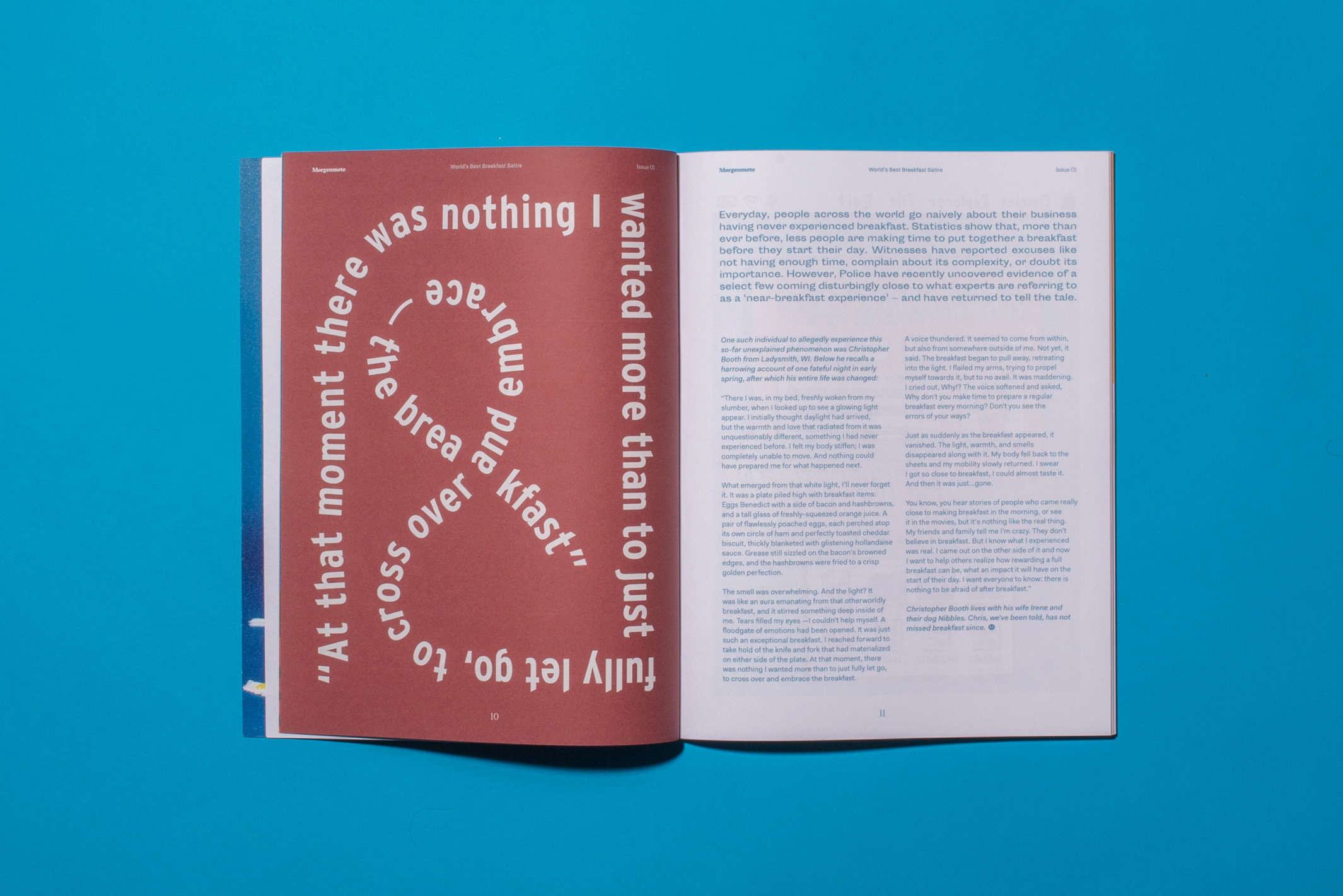 Playful type and design by Tim Lampe
