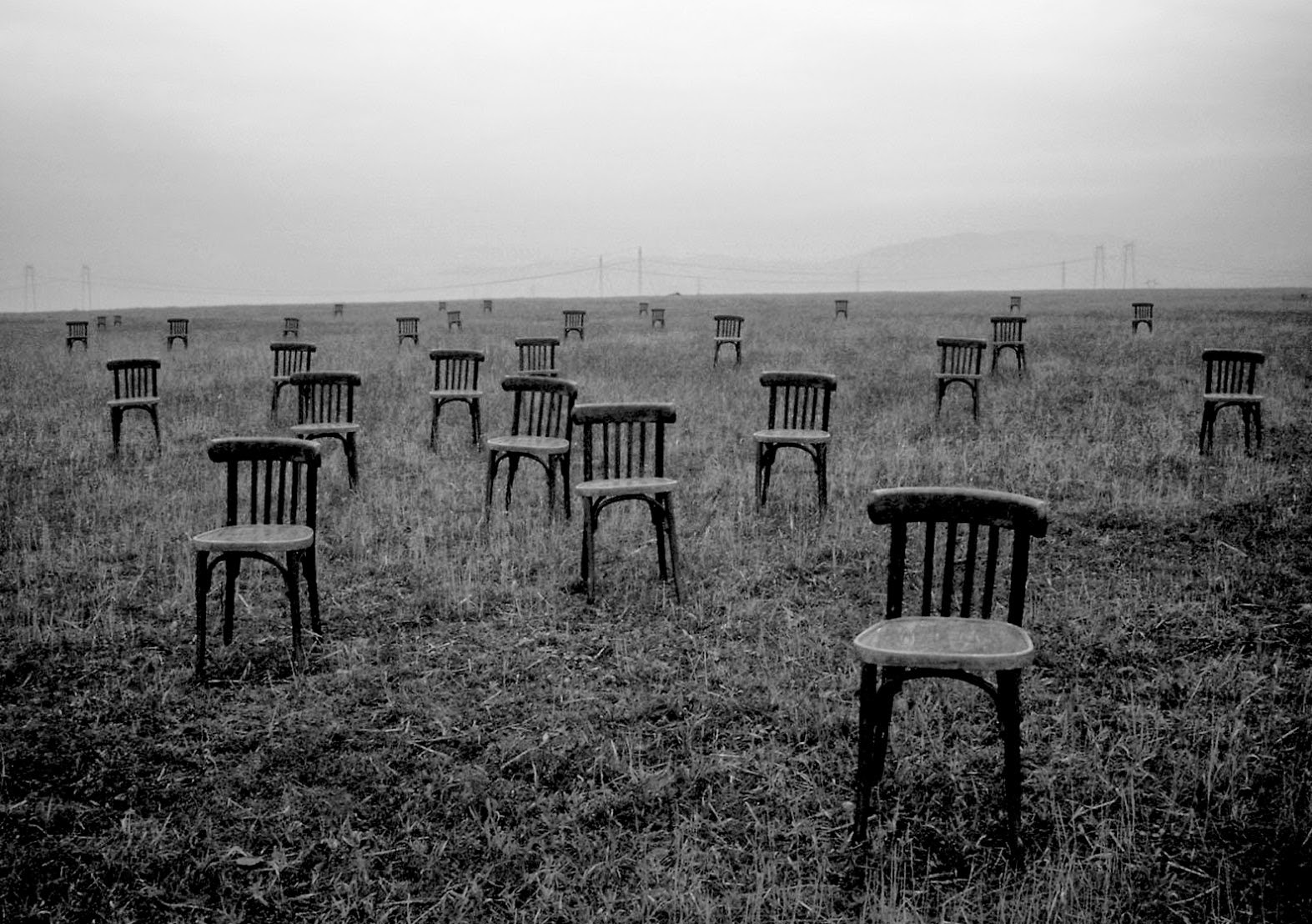 Image:  Empty Chairs/Wallpaper Wise