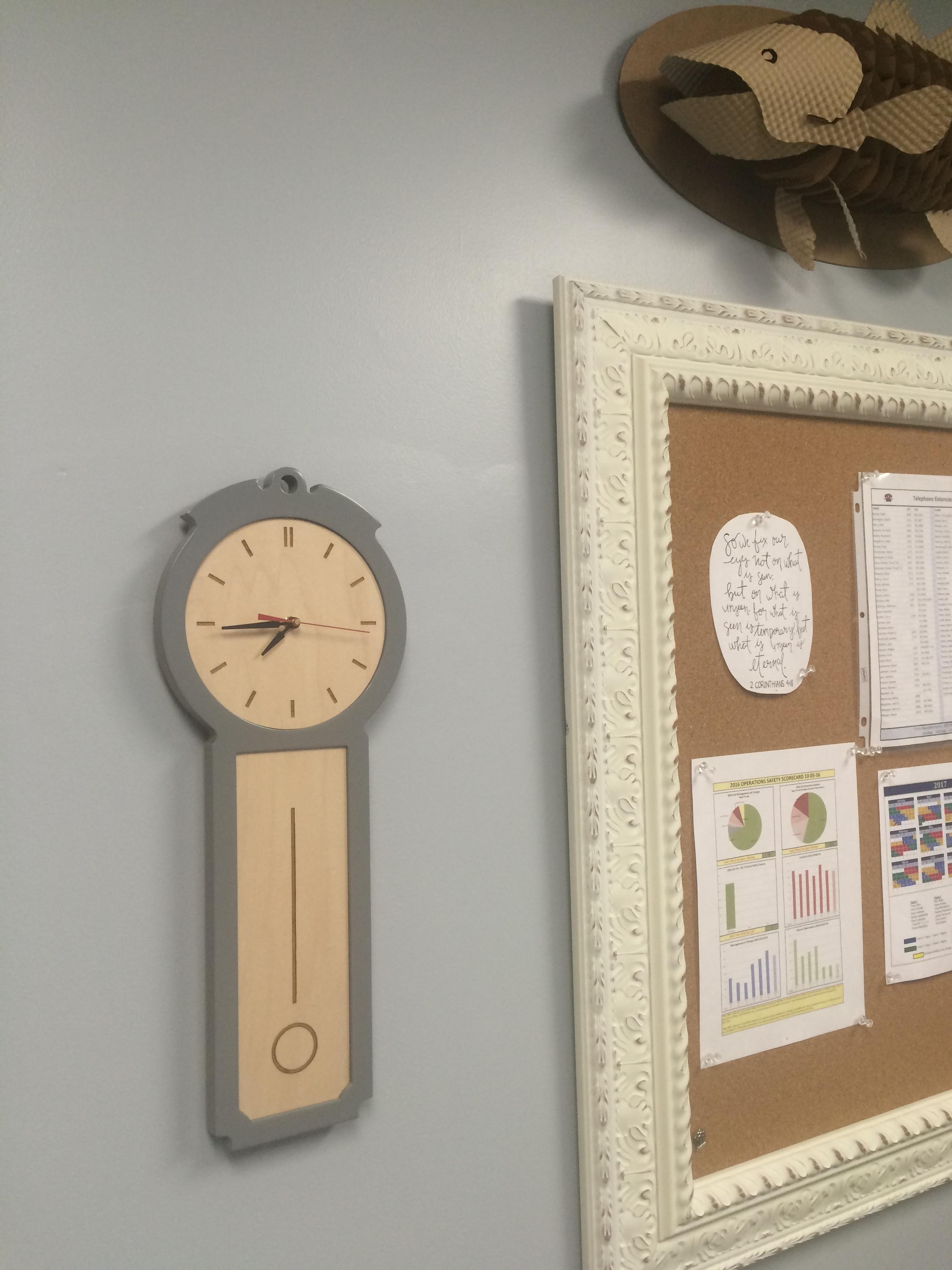 New office clock