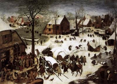 Census at Bethlehem by Bruegel the Elder