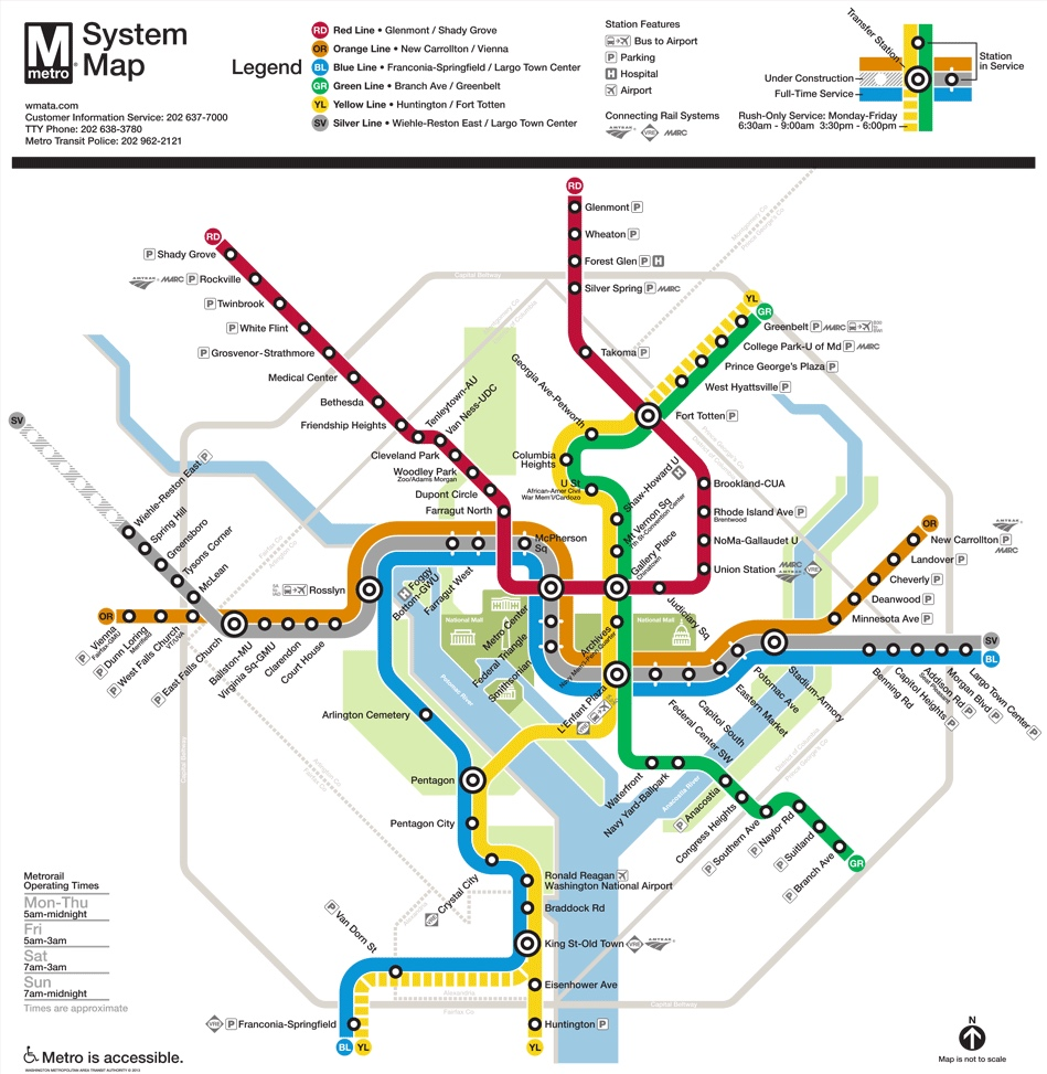 Metro Trip Planner - Need to catch the train no problem we are 2 blocks from Glenmont Metro Station