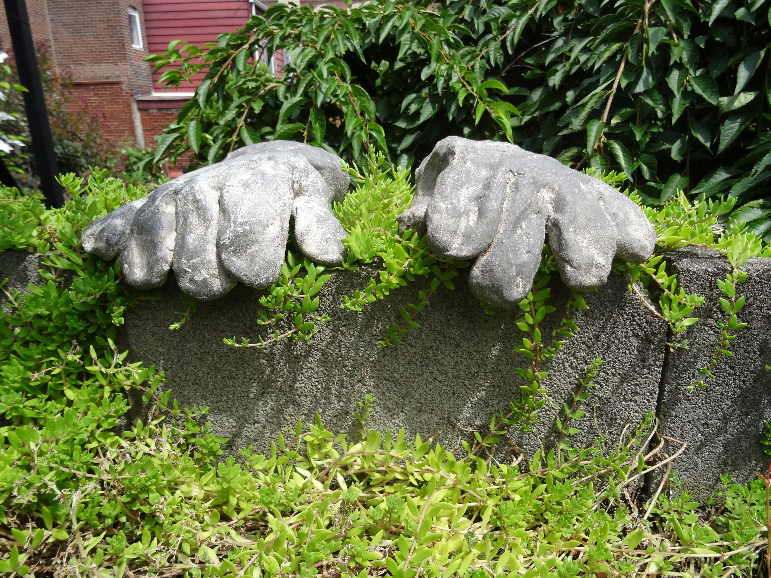 6. gloves for a ledge (detail)