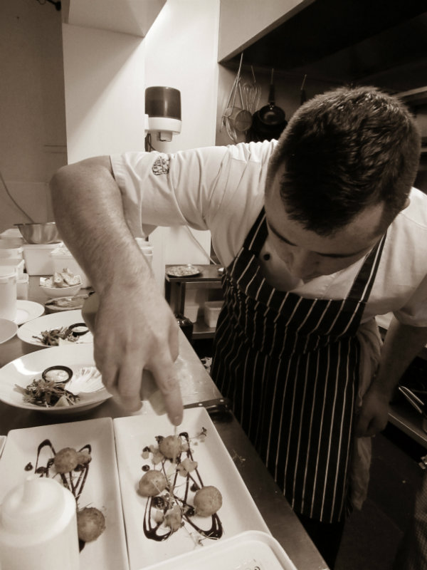karl brown head chef twenty2 restaurant