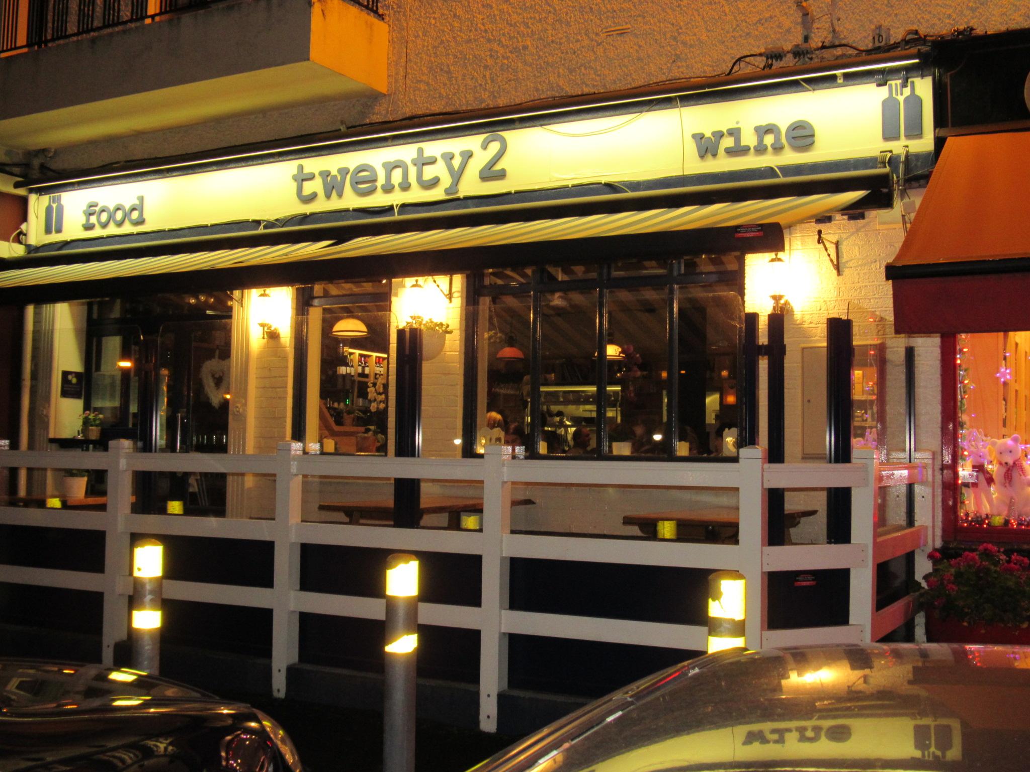 twenty2 restaurant dublin 9