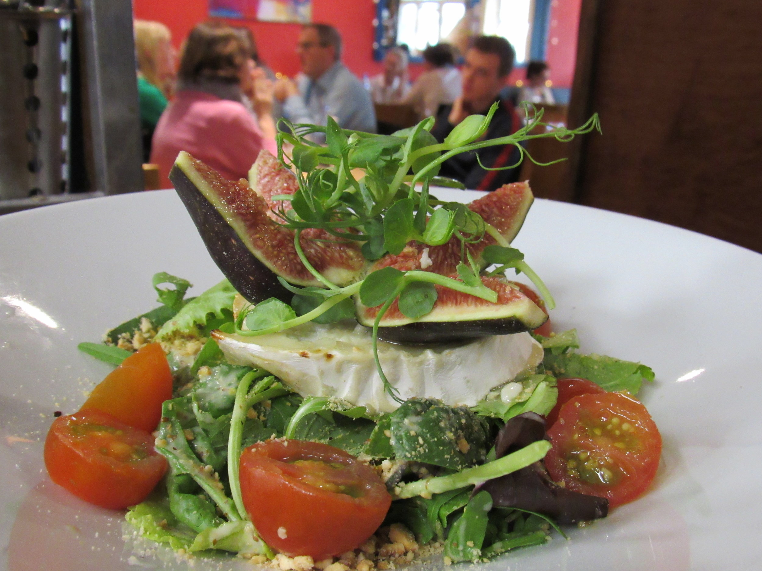 Goats cheese salad at twenty2, Drumcondra