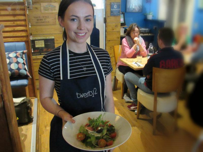 pretty irish waitress