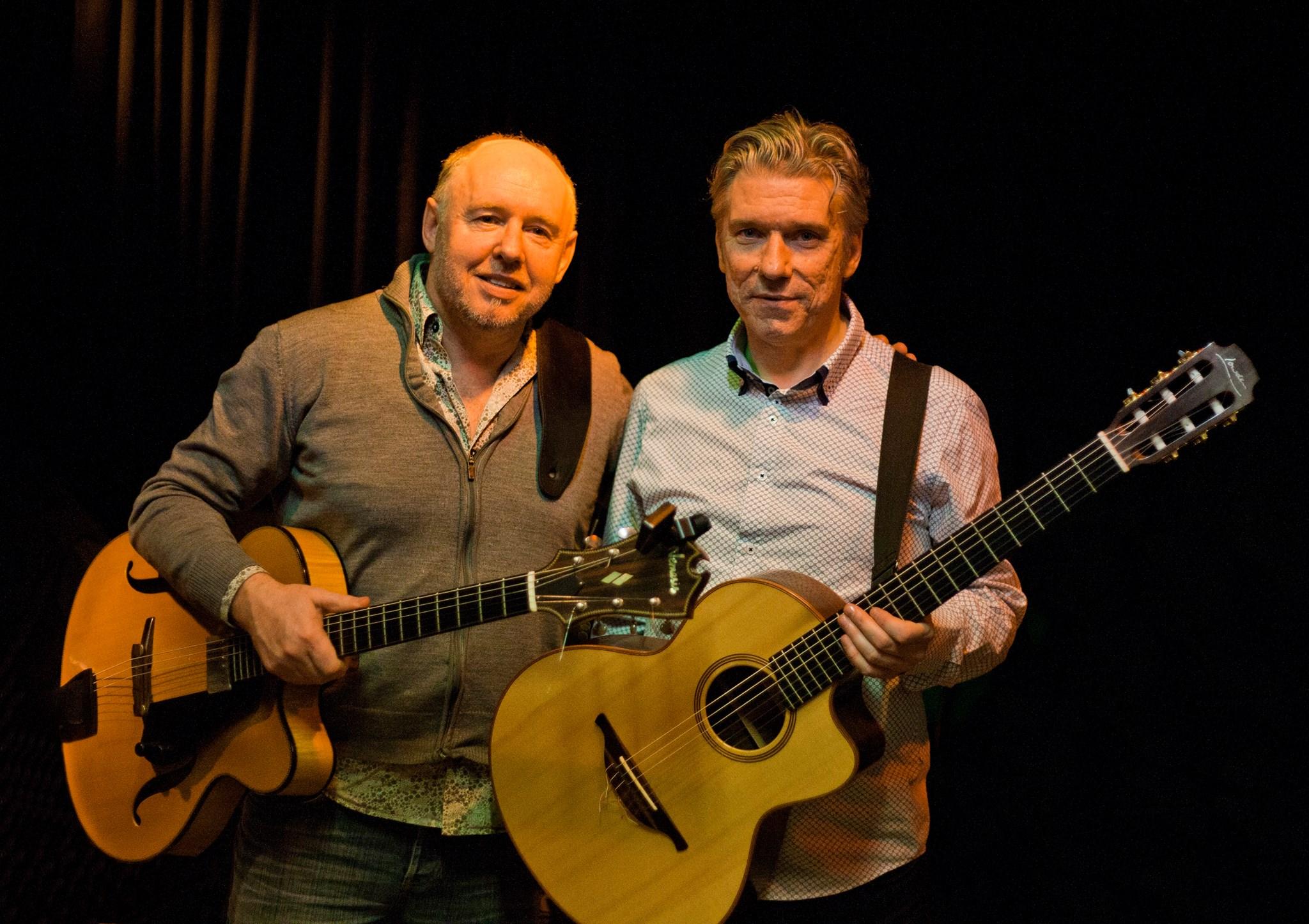 Guitar duo Hugh Buckley and Nigel Clark